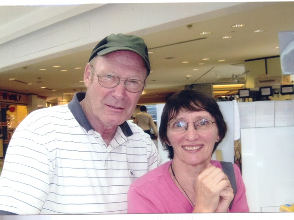 Linda & Richard from Auckland, New Zealand
