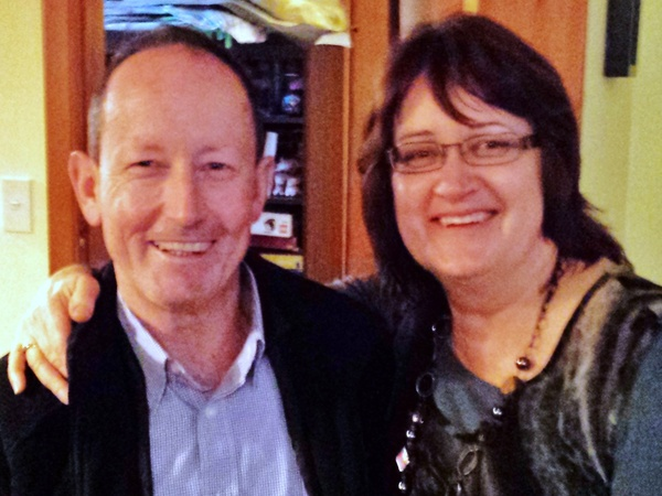 Gerald & Joy from Wellington, NZ
