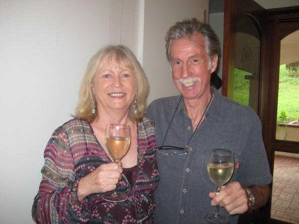 Frances & Peter from Tilarán, Costa Rica