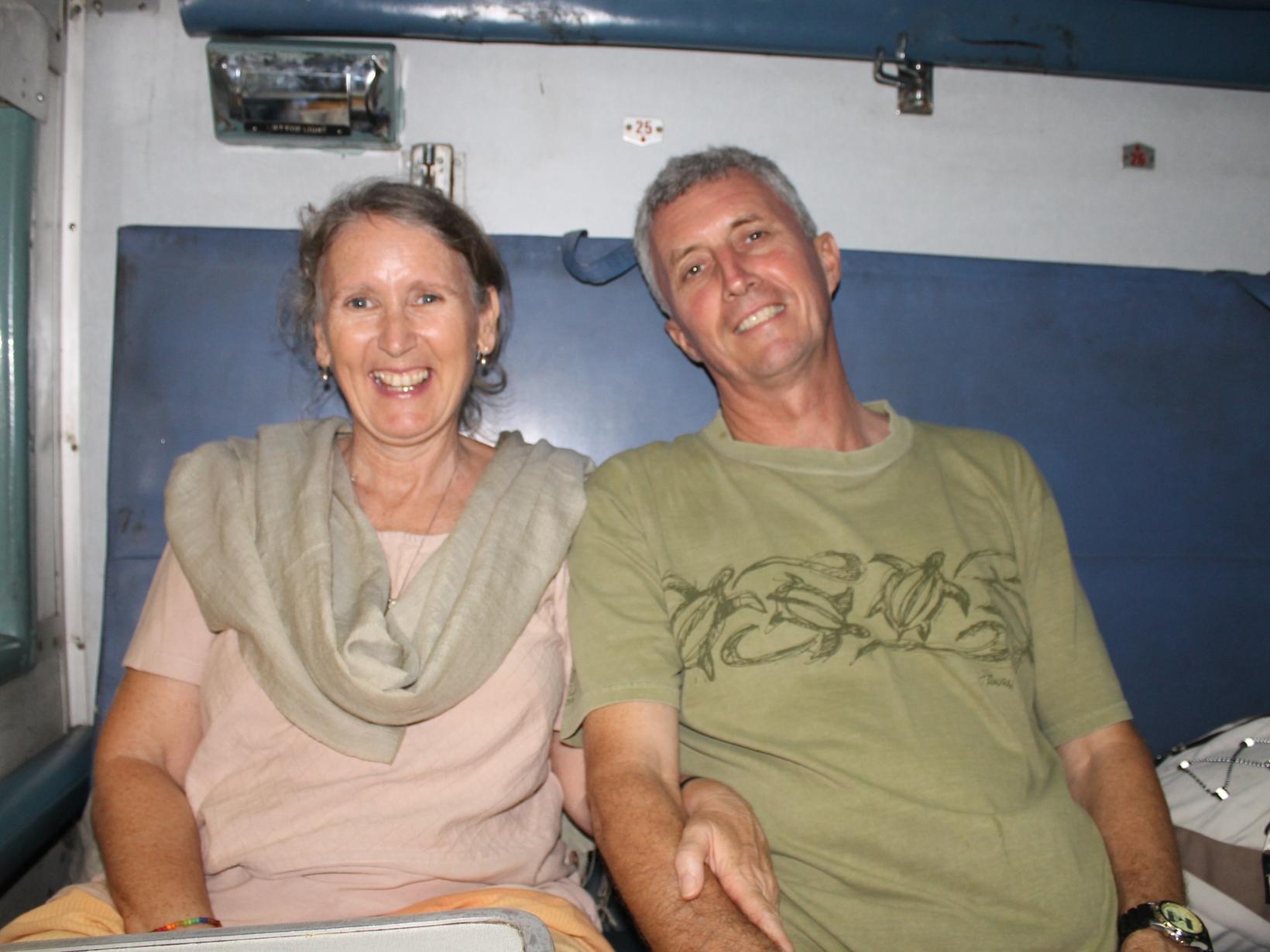 Julie & Nik from Halls Creek, Western Australia, Australia