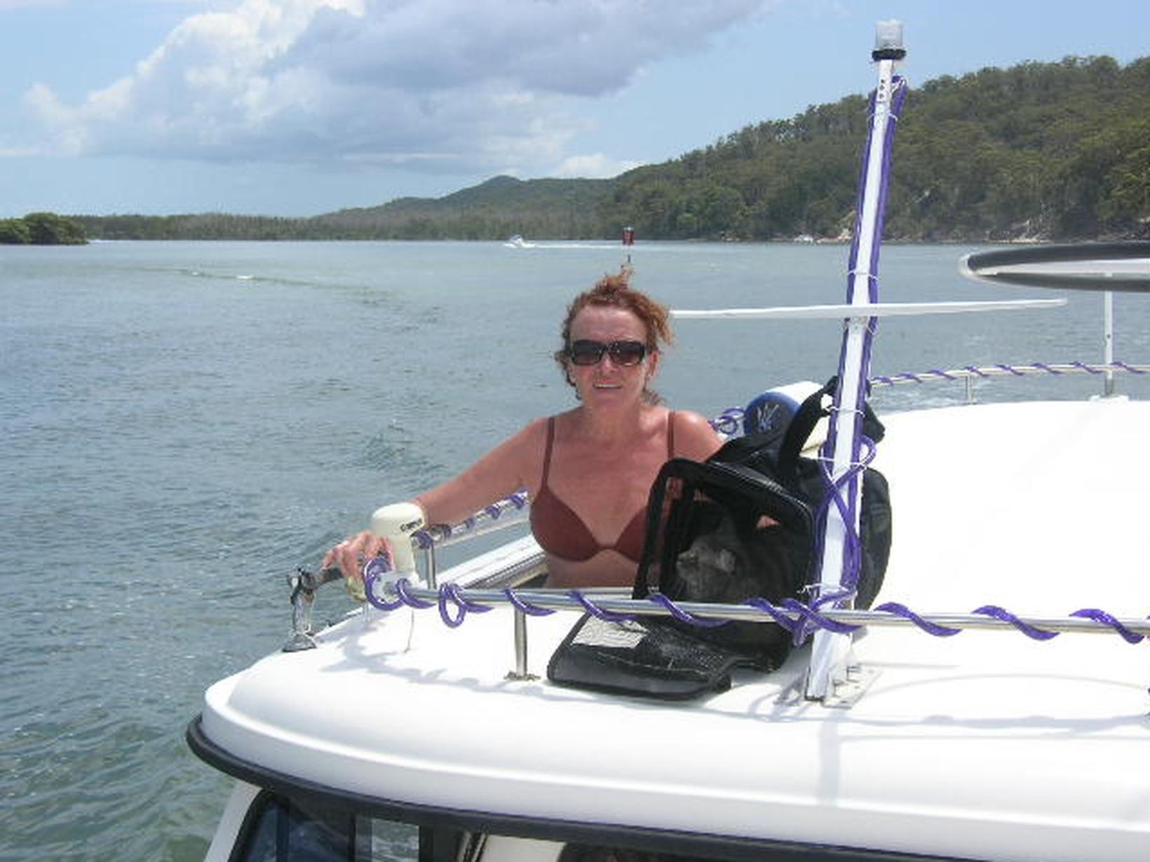 Lesley from Labrador, Queensland, Australia