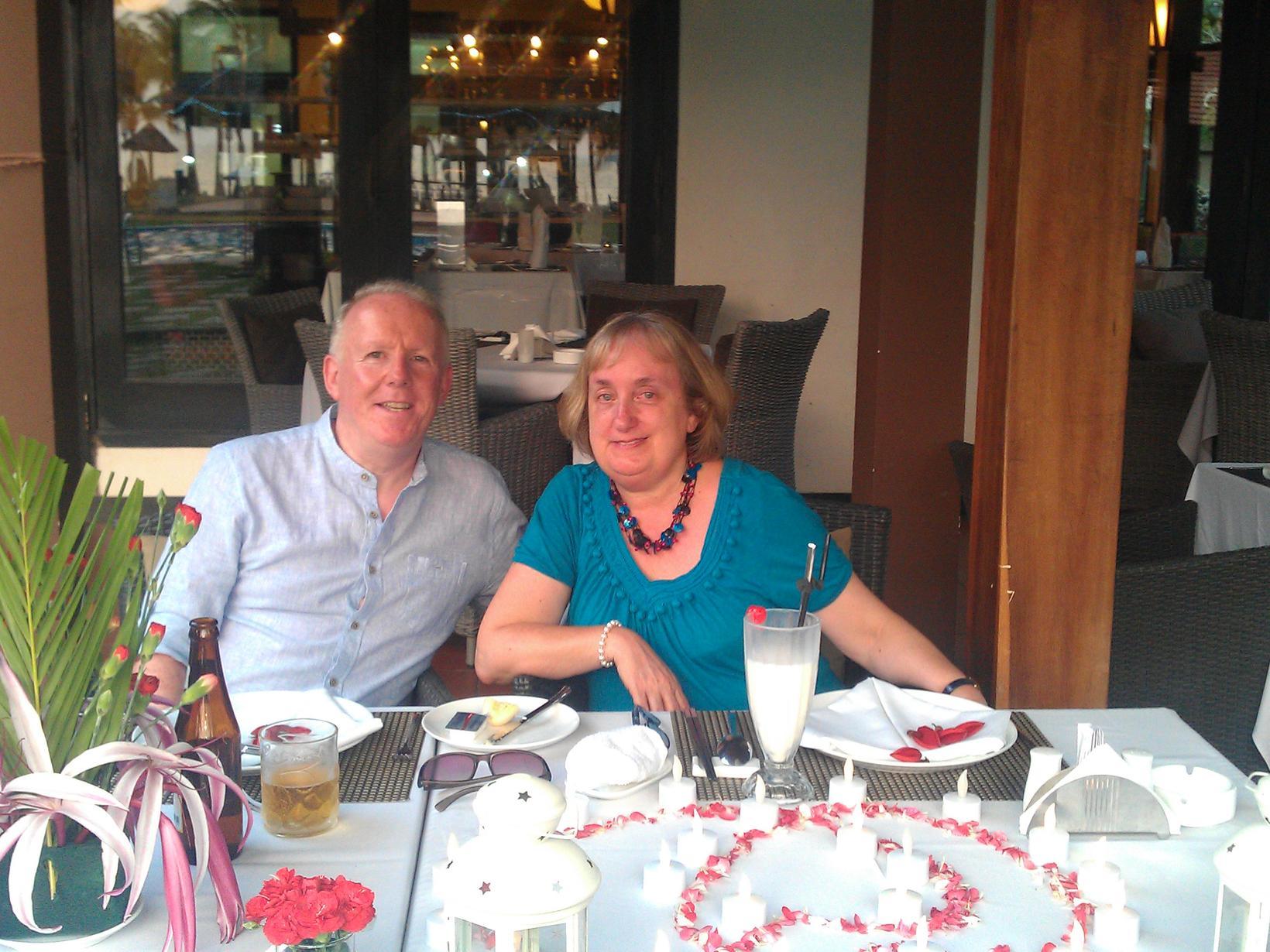 Derek & Pam from Harrogate, United Kingdom