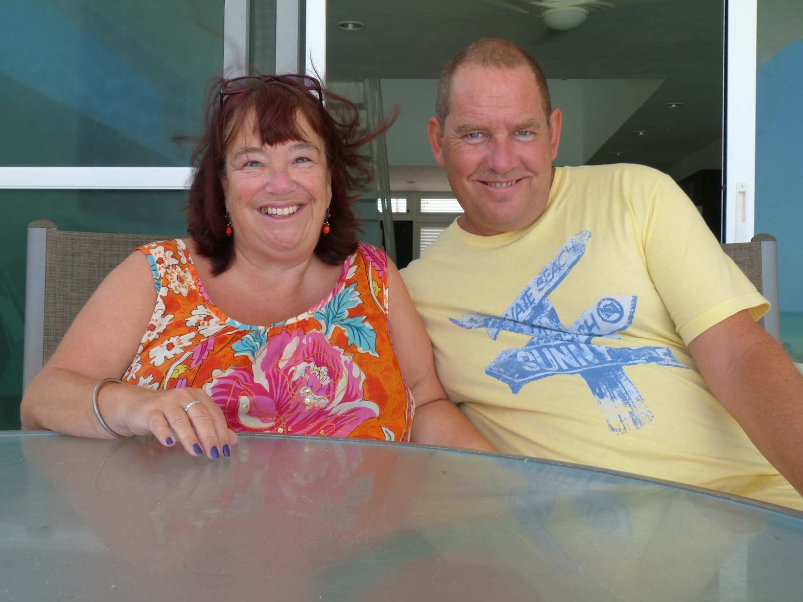 Gill & Clive from London, United Kingdom