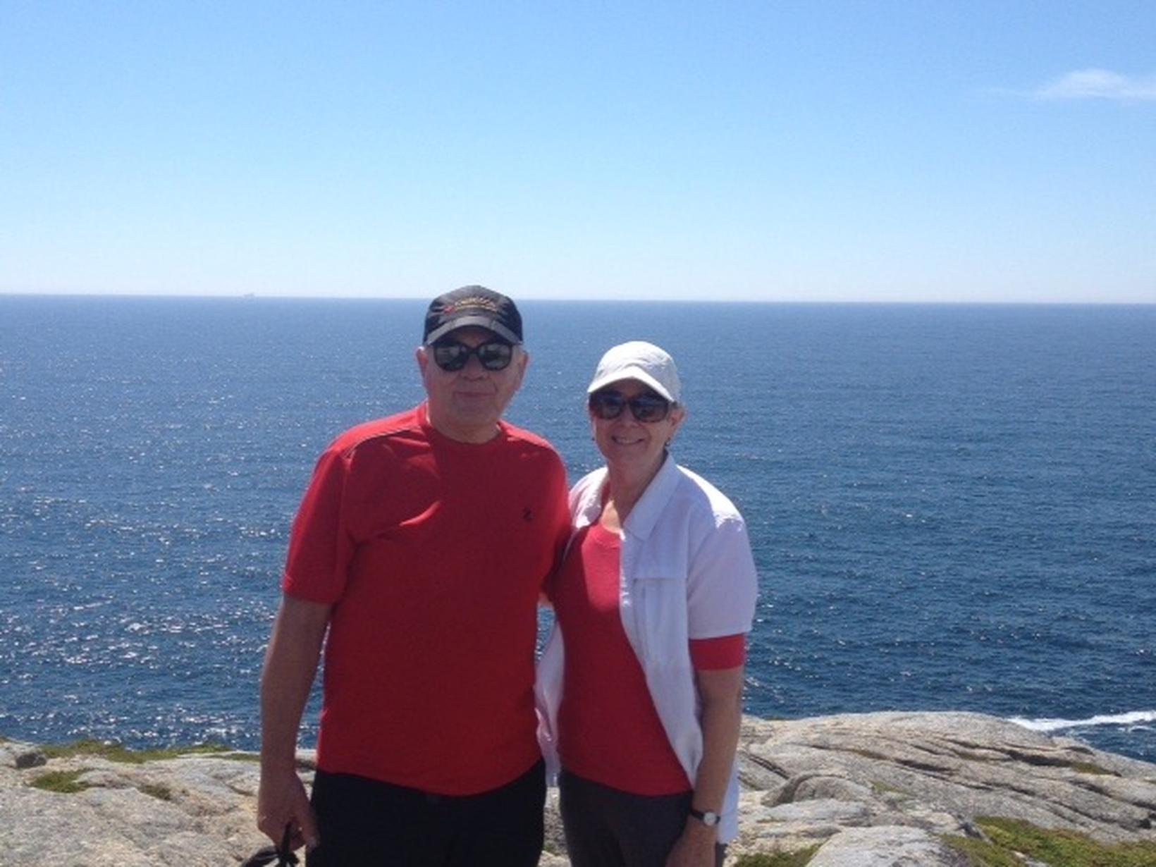 Derek & Suzanne from Halifax, Nova Scotia, Canada