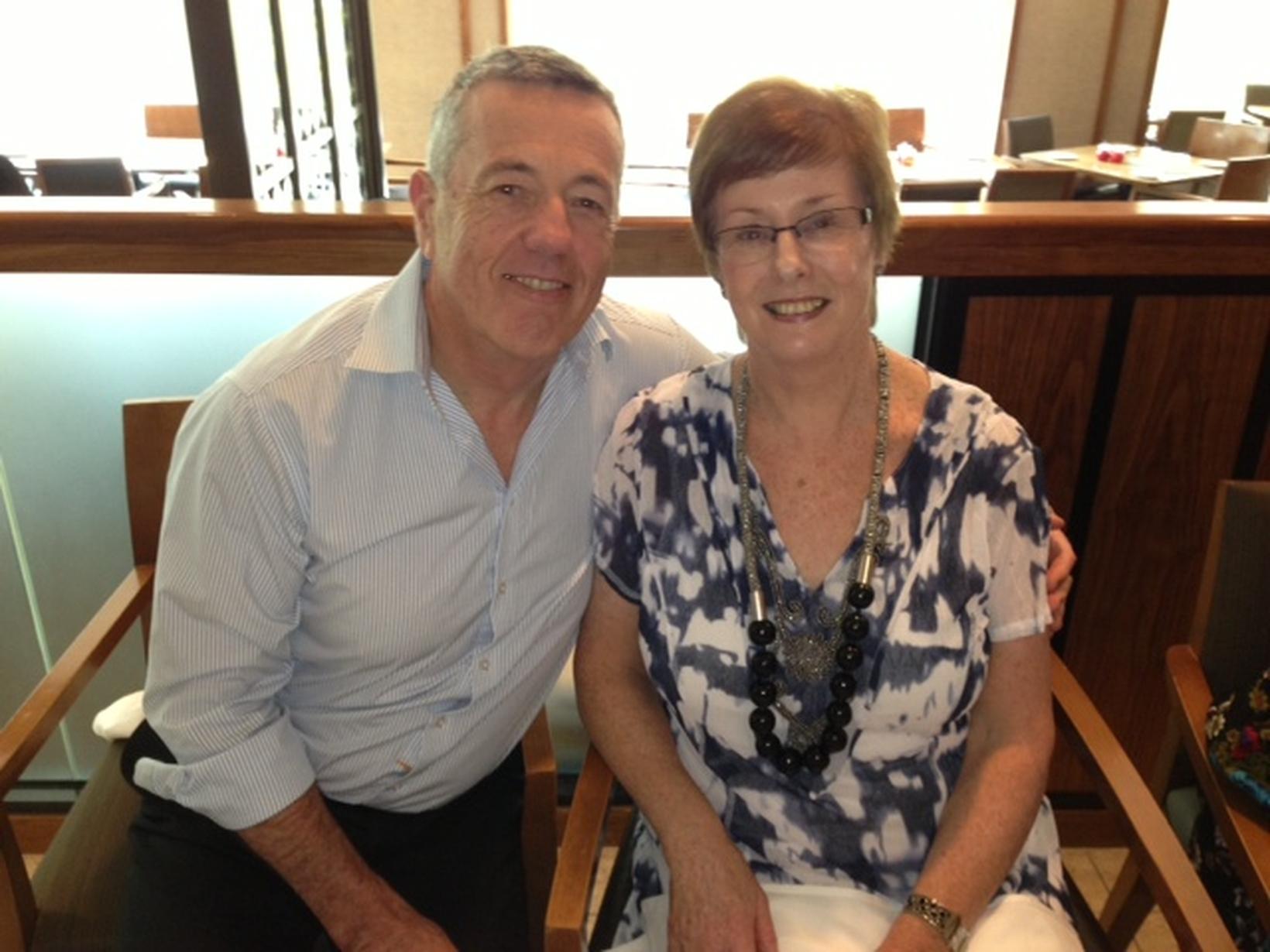 Philip & Bernadette from Melbourne, Victoria, Australia