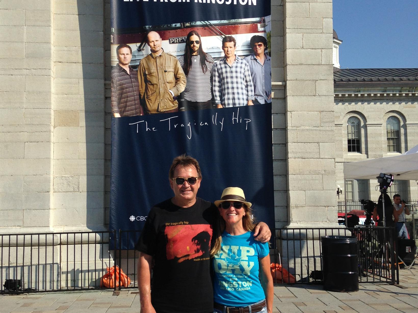 Carrie & Dan from Stirling, Ontario, Canada