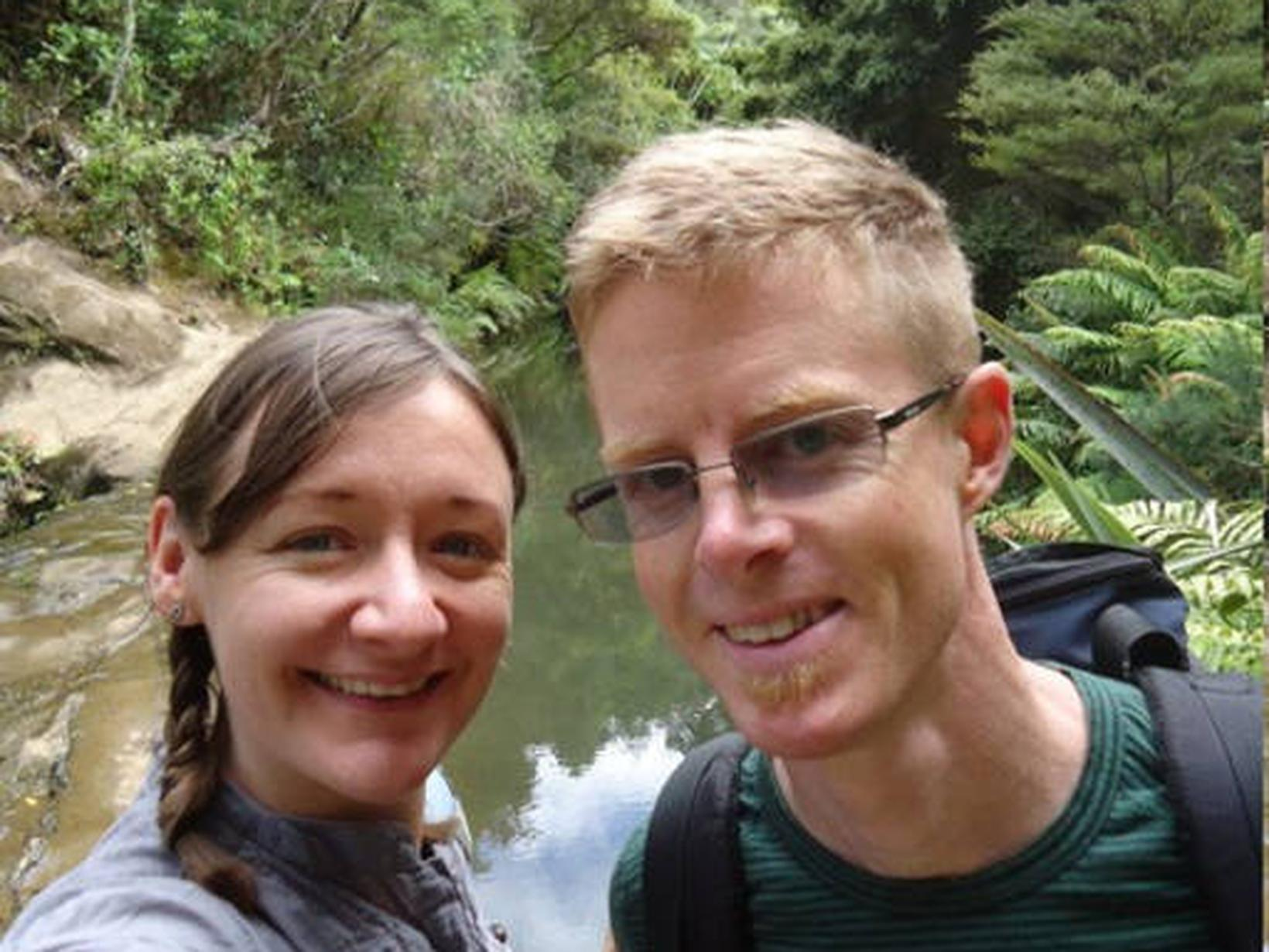 Rich & Amanda from Auckland, New Zealand