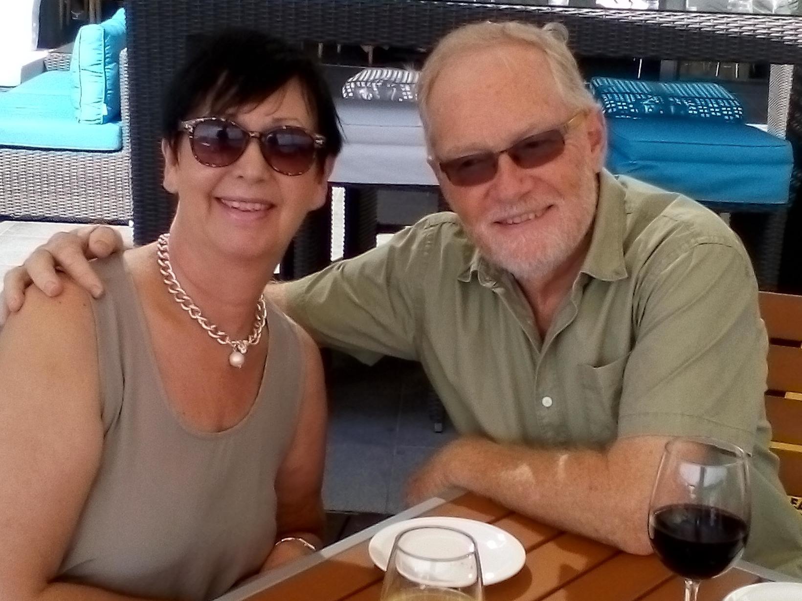 Anne & Geoff from Gold Coast, Queensland, Australia