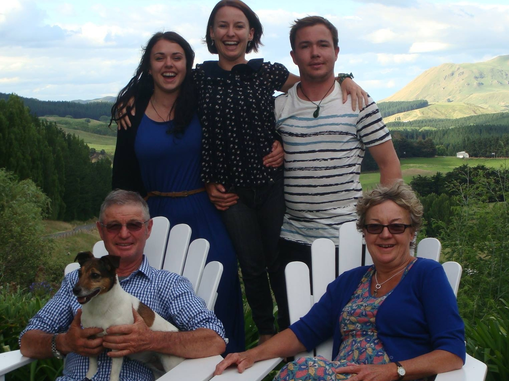 Gayl & Philip from Havelock North, New Zealand