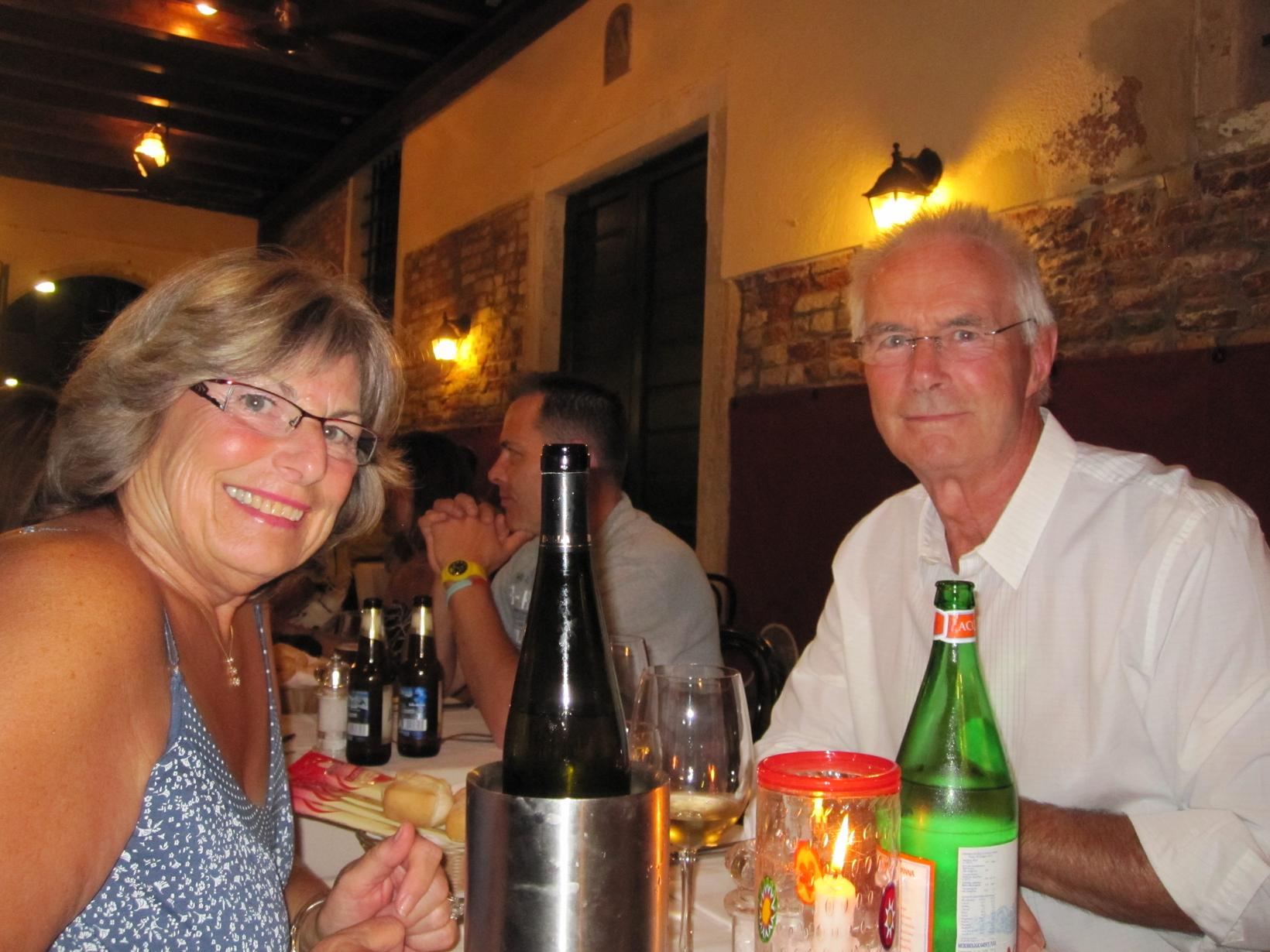 Robert & Margaret from Calgary, Alberta, Canada