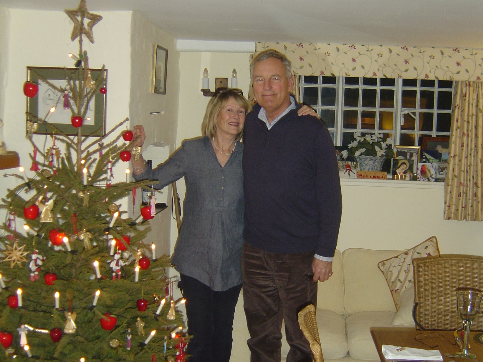 Patricia  & Andrew  from Tarrant Monkton, United Kingdom