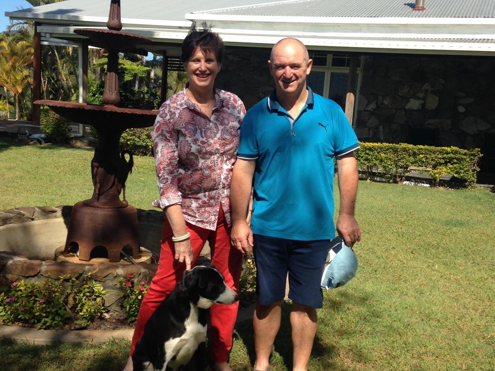 Peter & Sharon from Willow Vale, Queensland, Australia