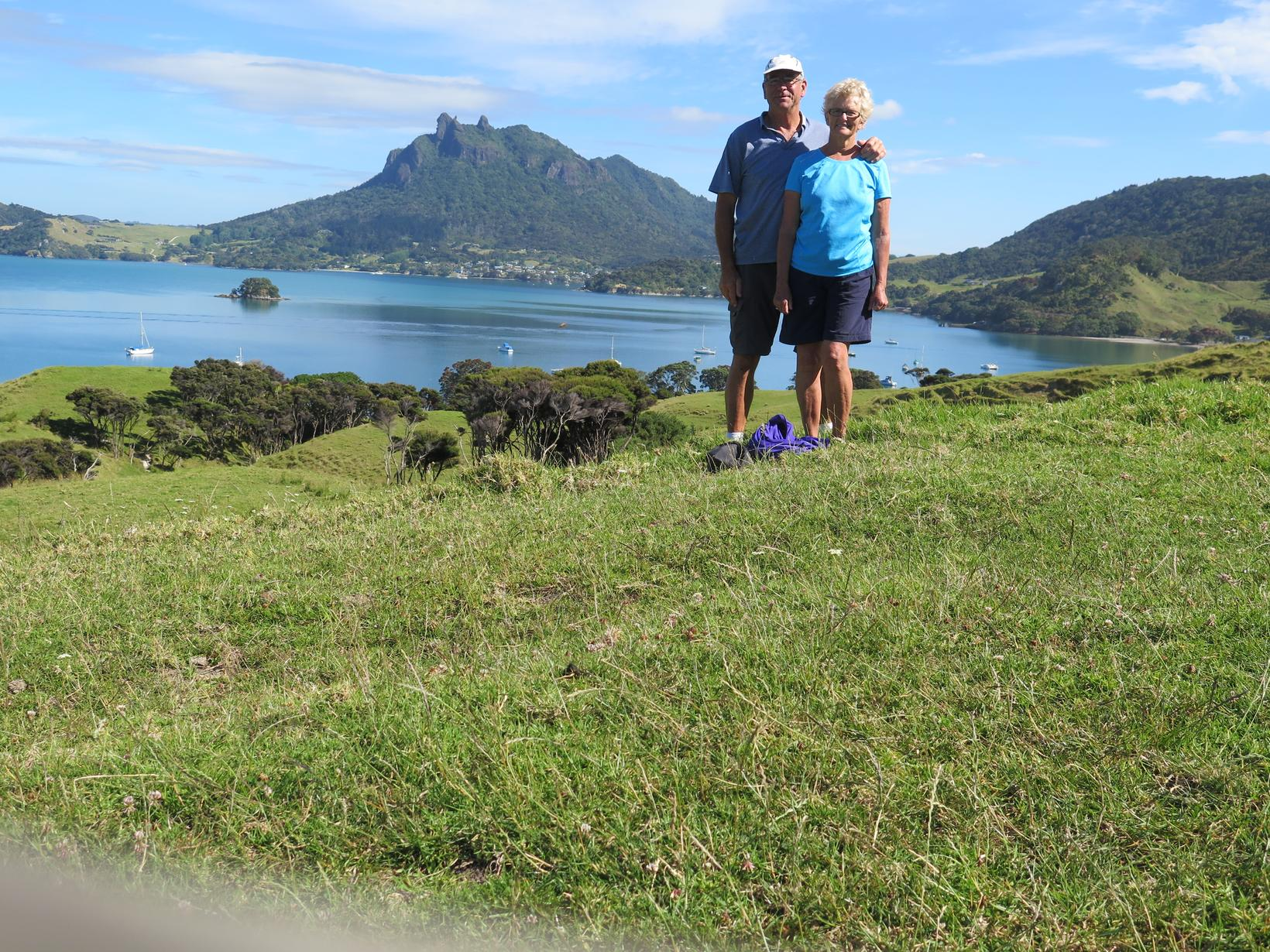 Bonnie & Harvey from Whangarei Heads, New Zealand