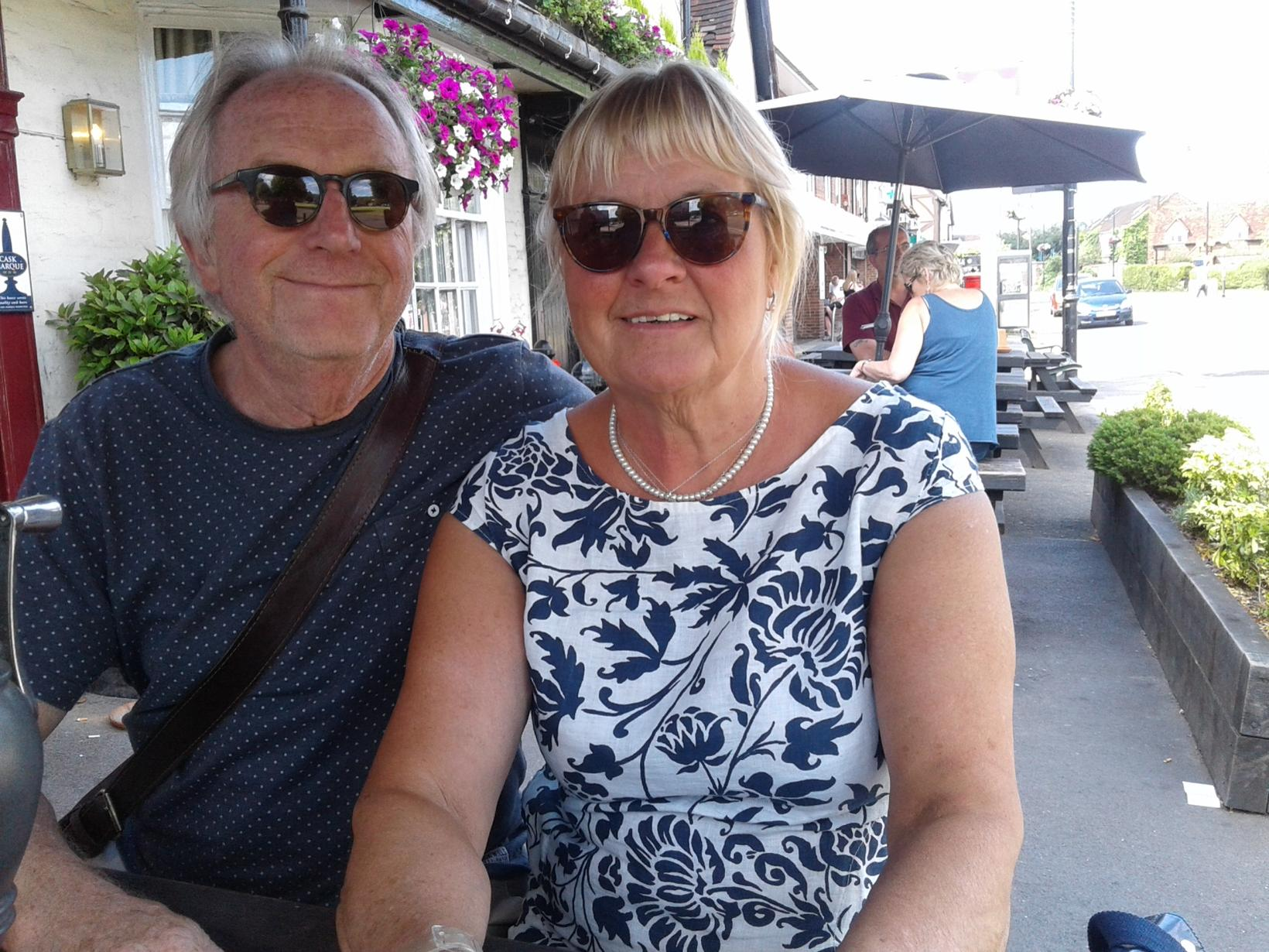 William & Jean from Siran, France