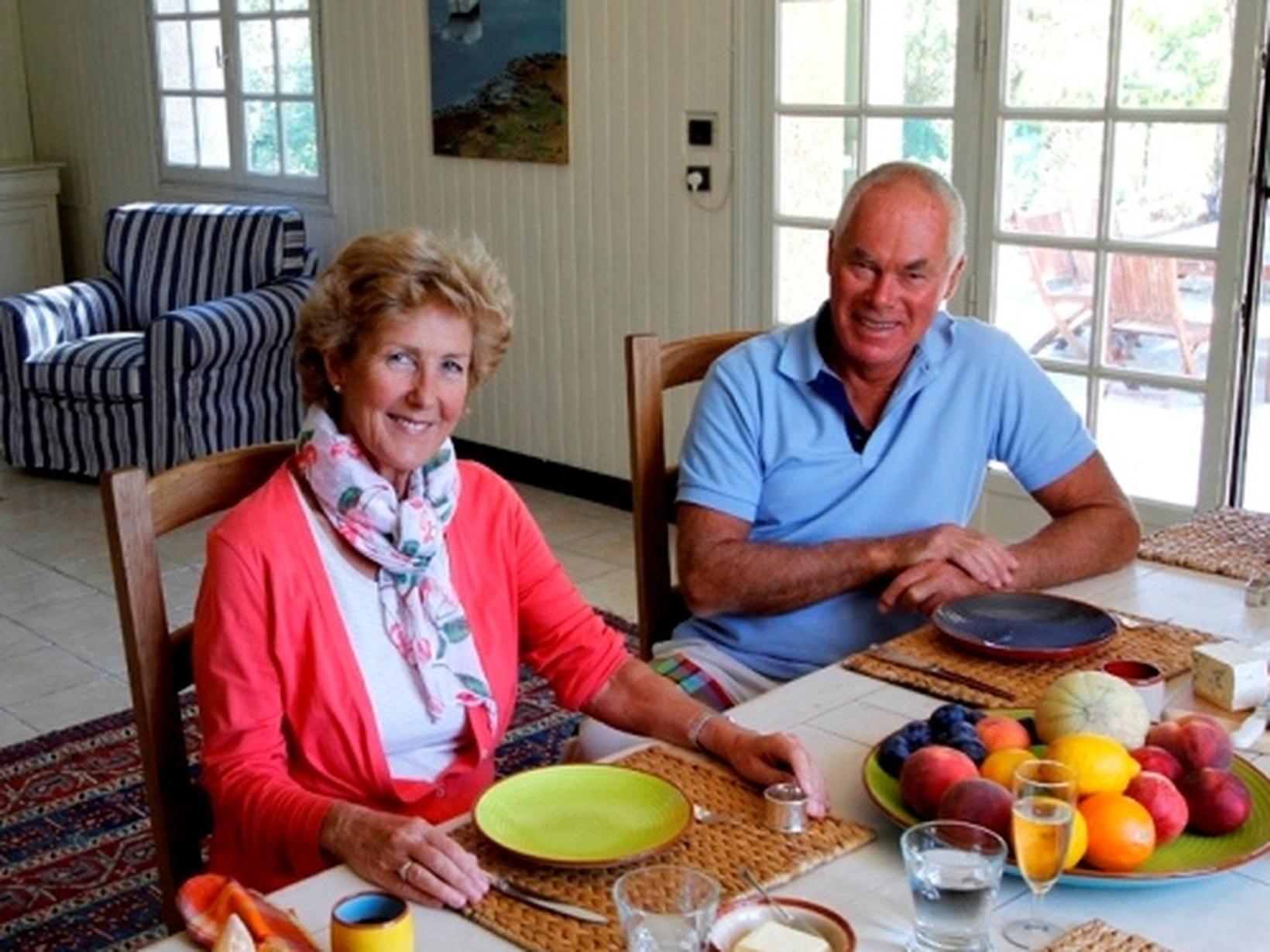 Tony and judith & Judith from Uzès, France
