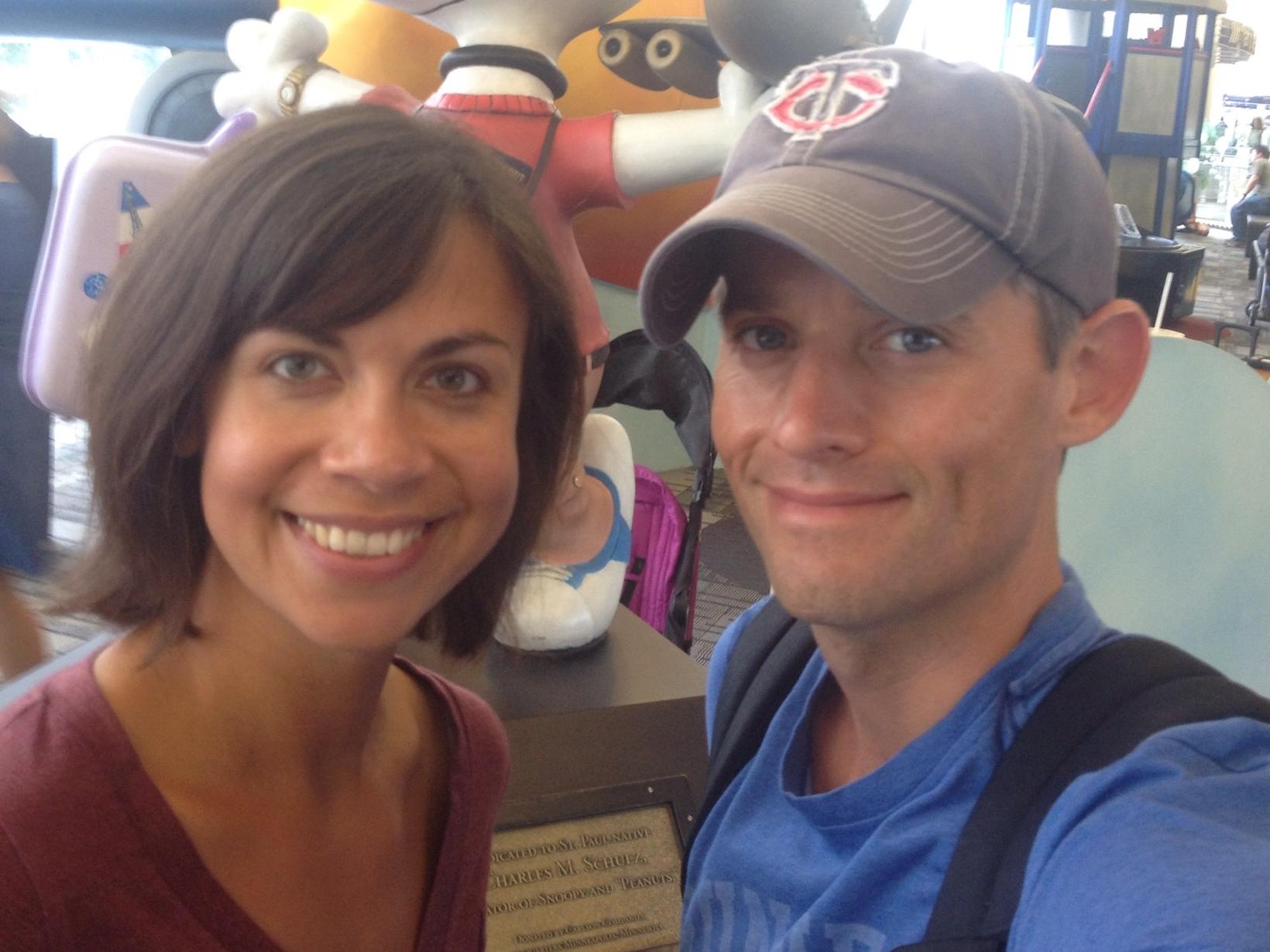 Delaney & Brian from Quito, Ecuador