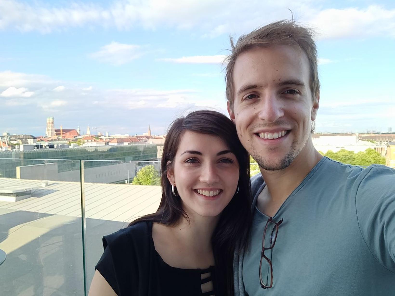 Alexandre & Alejandra from Munich, Germany