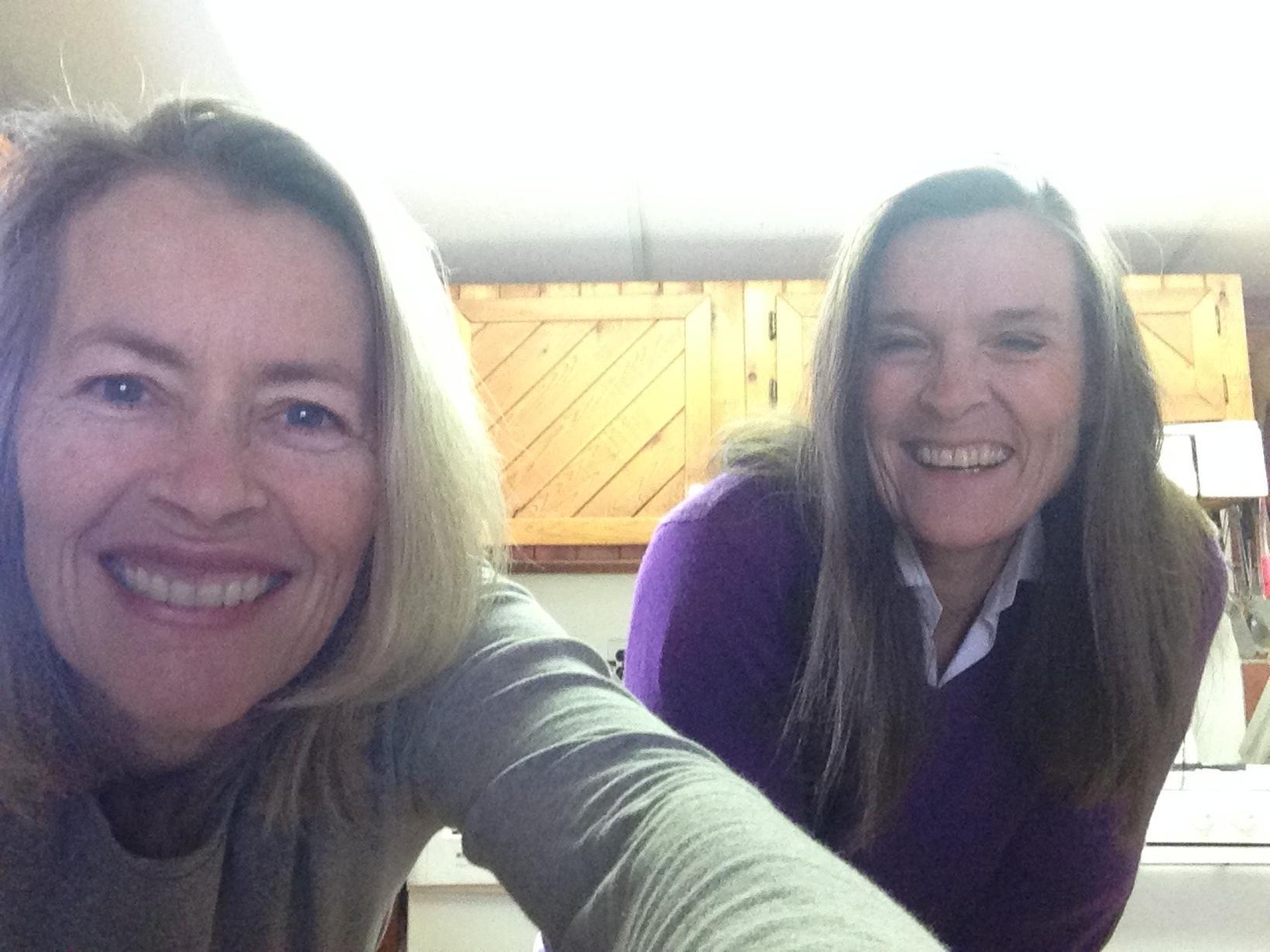 Mary tere & Philippa from Coe Hill, Ontario, Canada