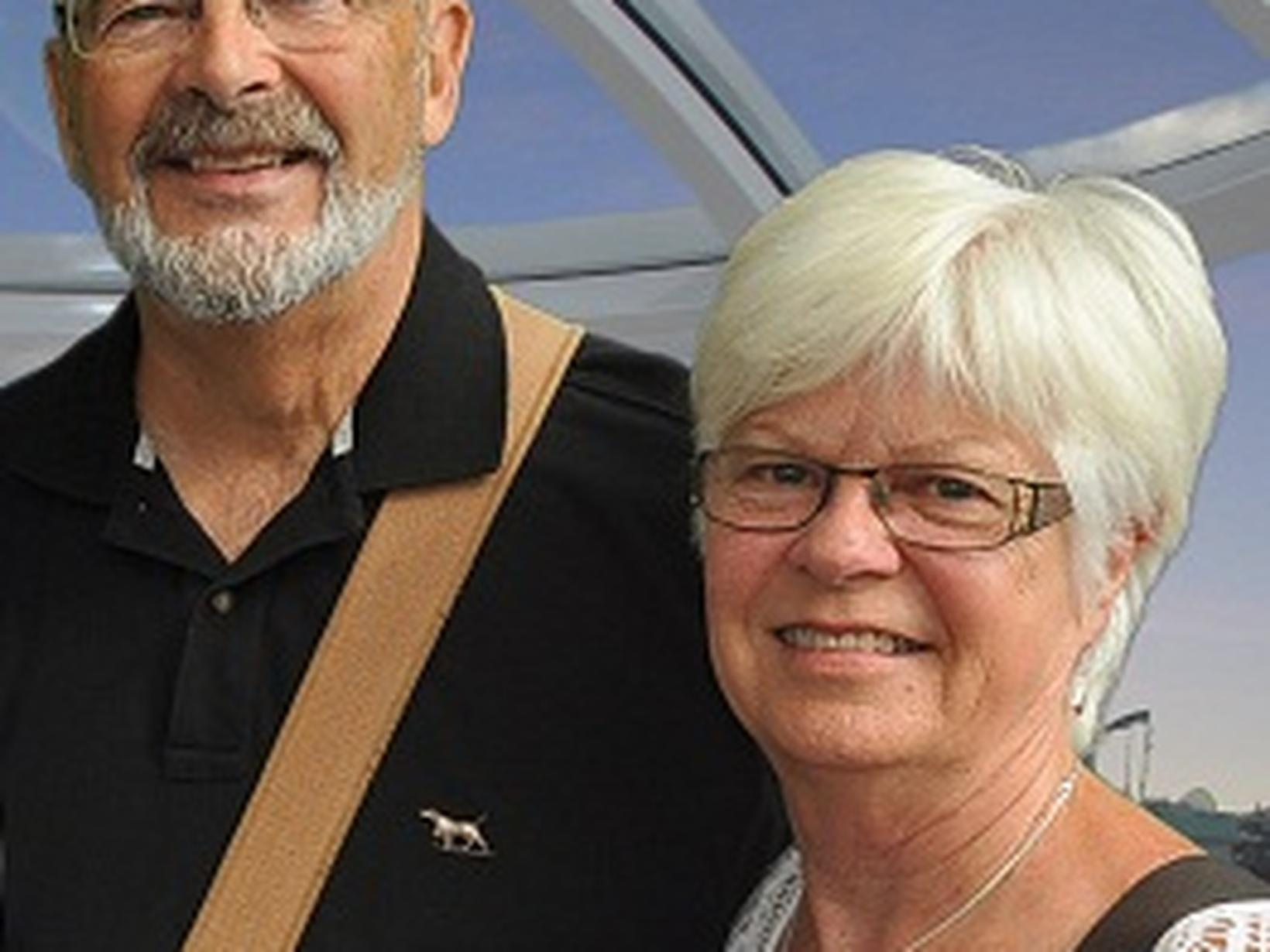 Michael & Jan from Napier, New Zealand