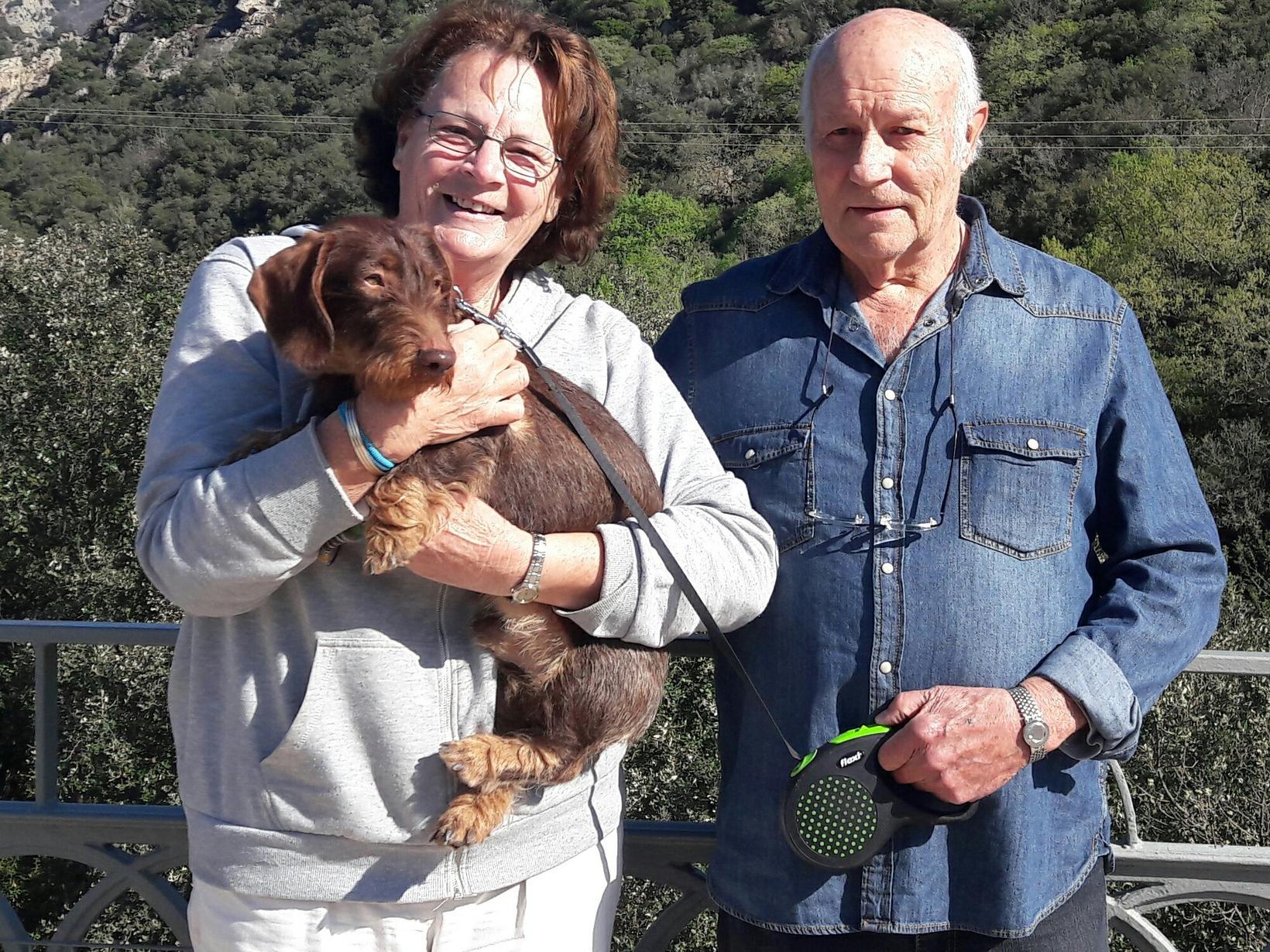 Kate & John (jean) from Nîmes, France