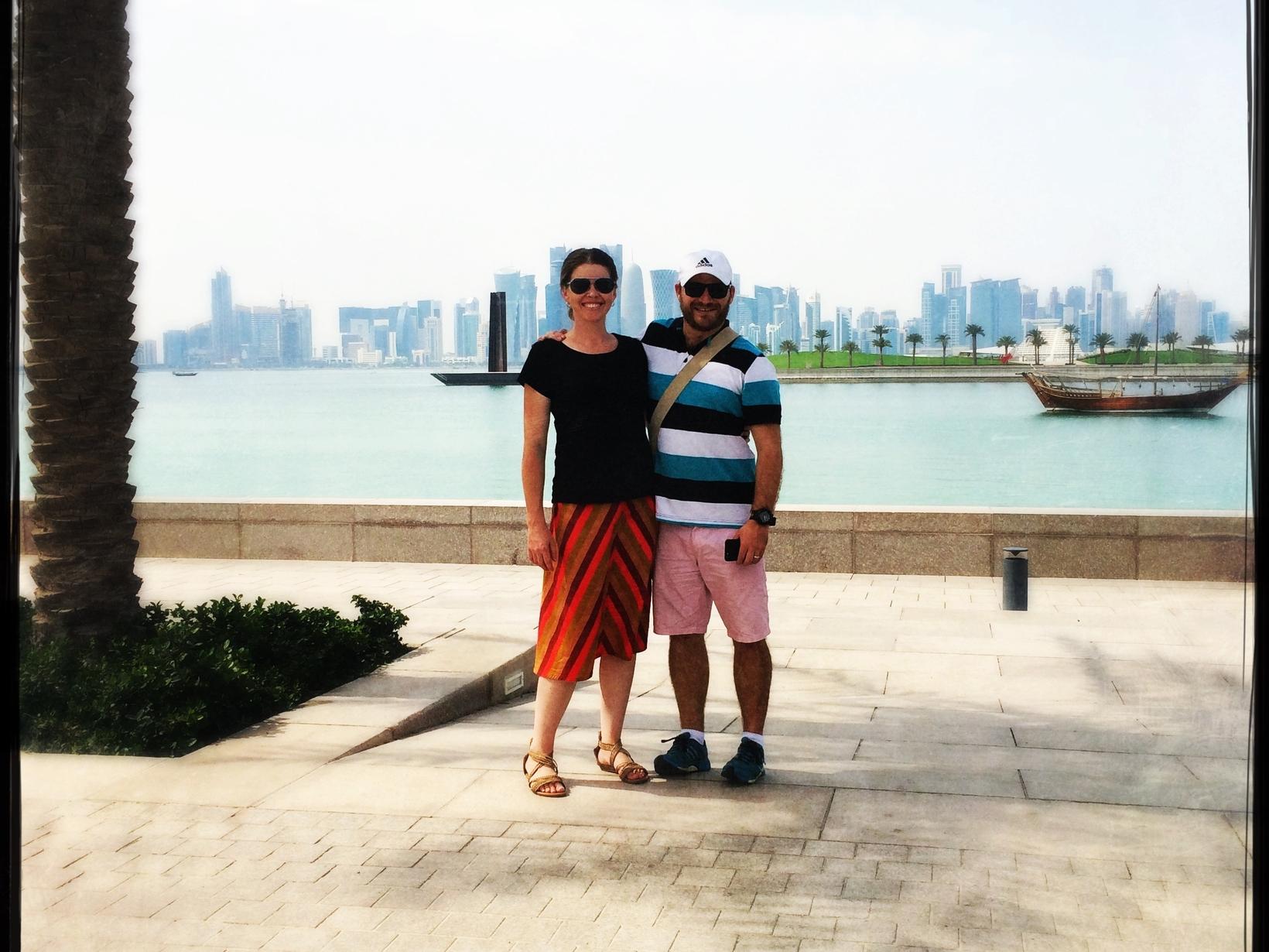 Alexandra & Ben from Doha, Qatar