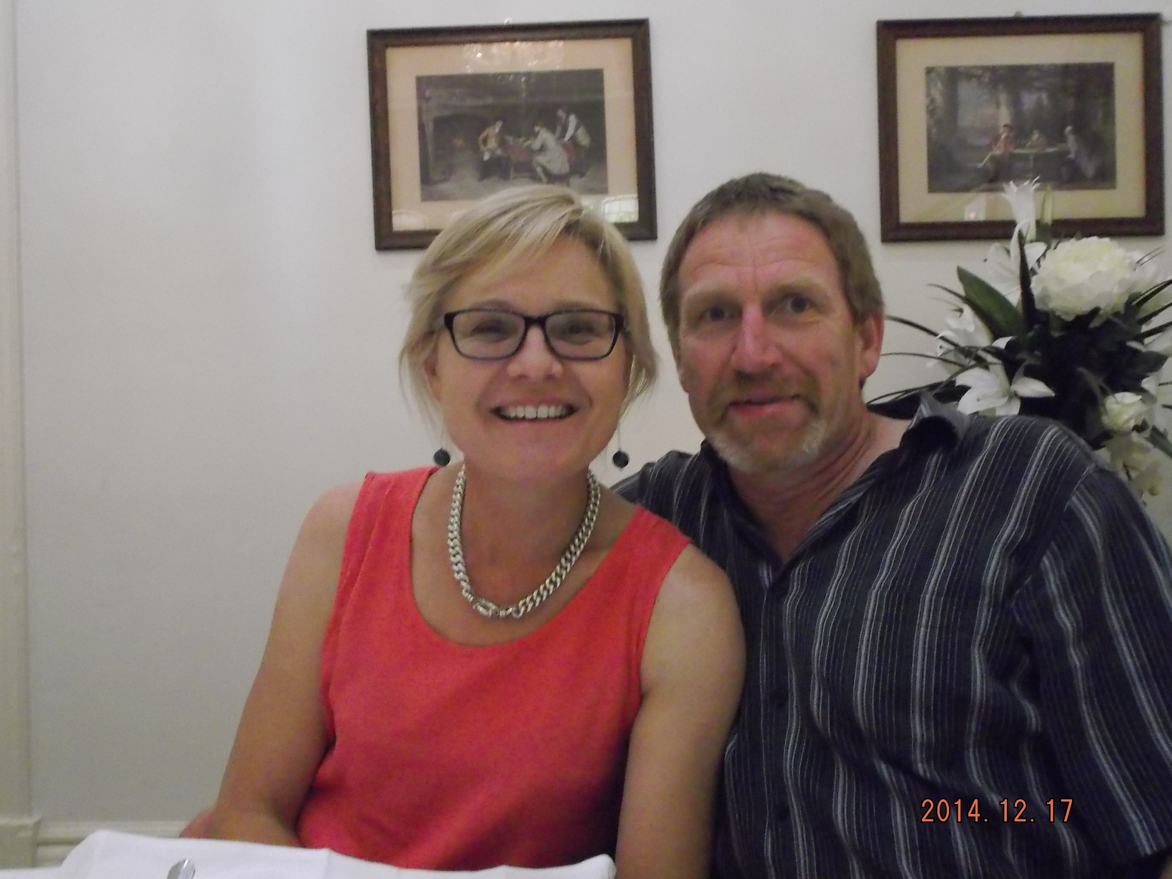 Louise & Bruce from Maffra, Victoria, Australia