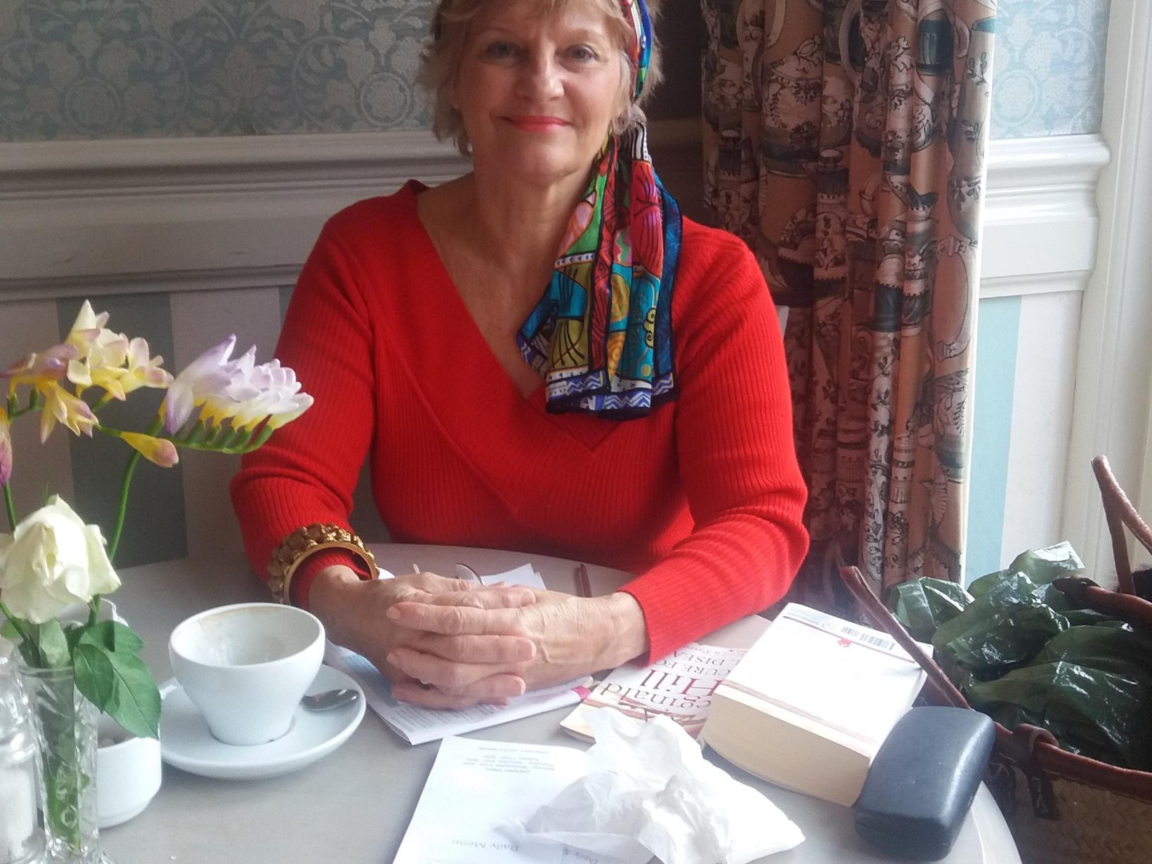 Joan from Upwell, United Kingdom
