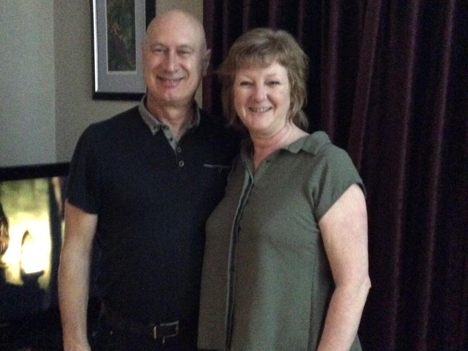 Anne & John from Bury, United Kingdom