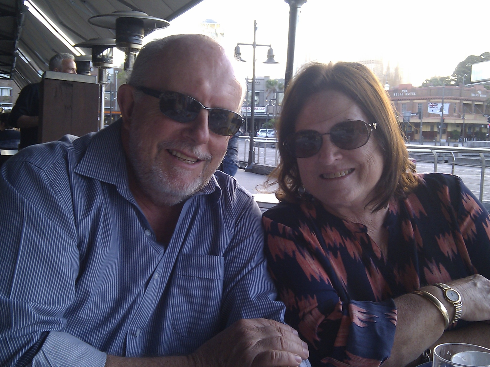 Phill & Jennifer from Sydney, New South Wales, Australia