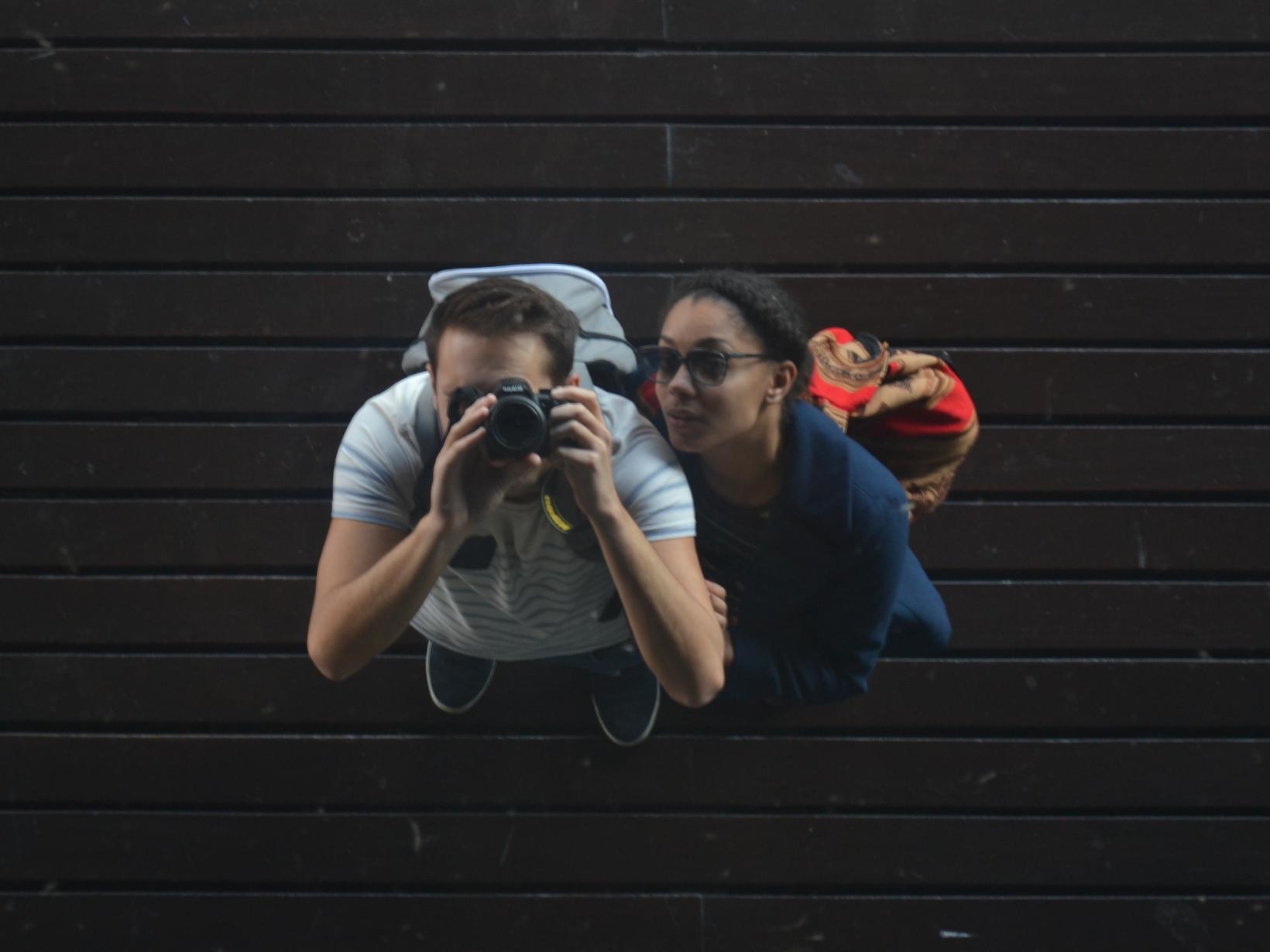 Clément & Daïnah from Paris, France