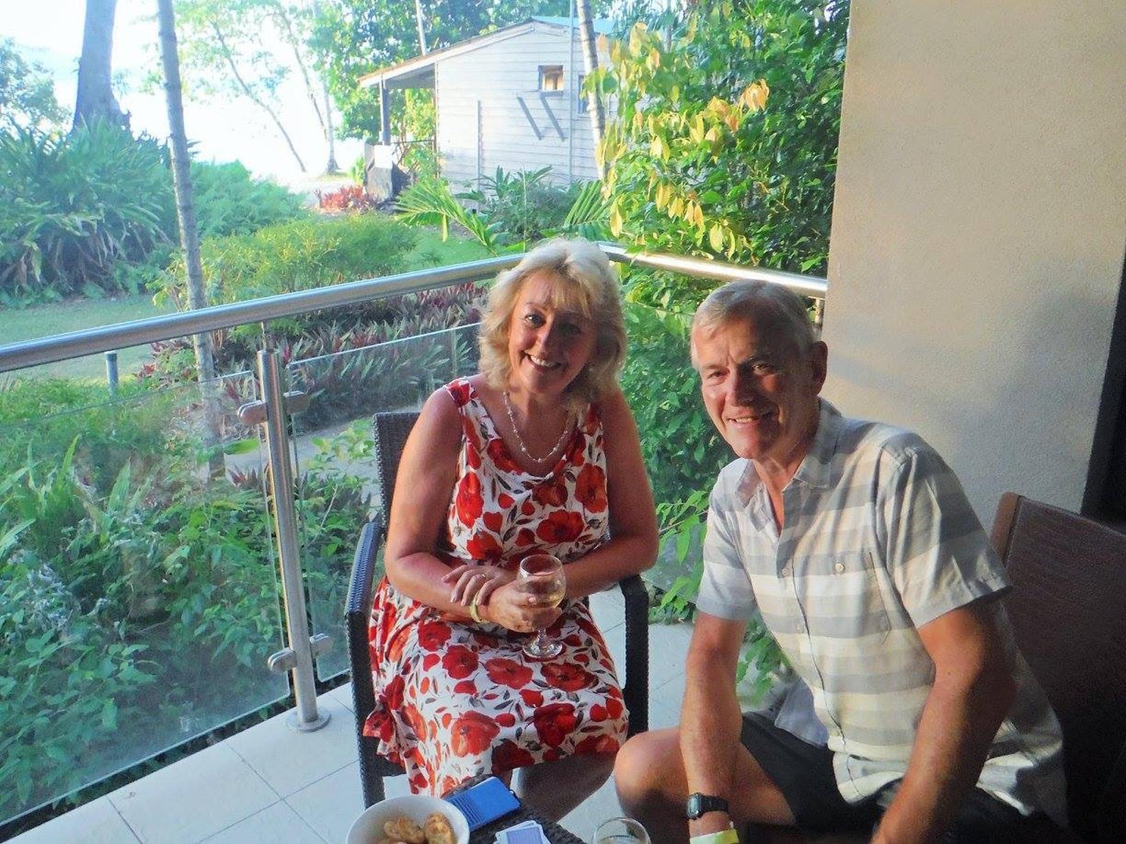 Karen & Colin from Perranporth, United Kingdom