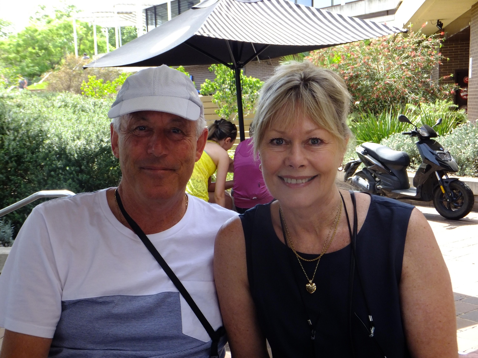 Roger & Ann from Tairua, New Zealand
