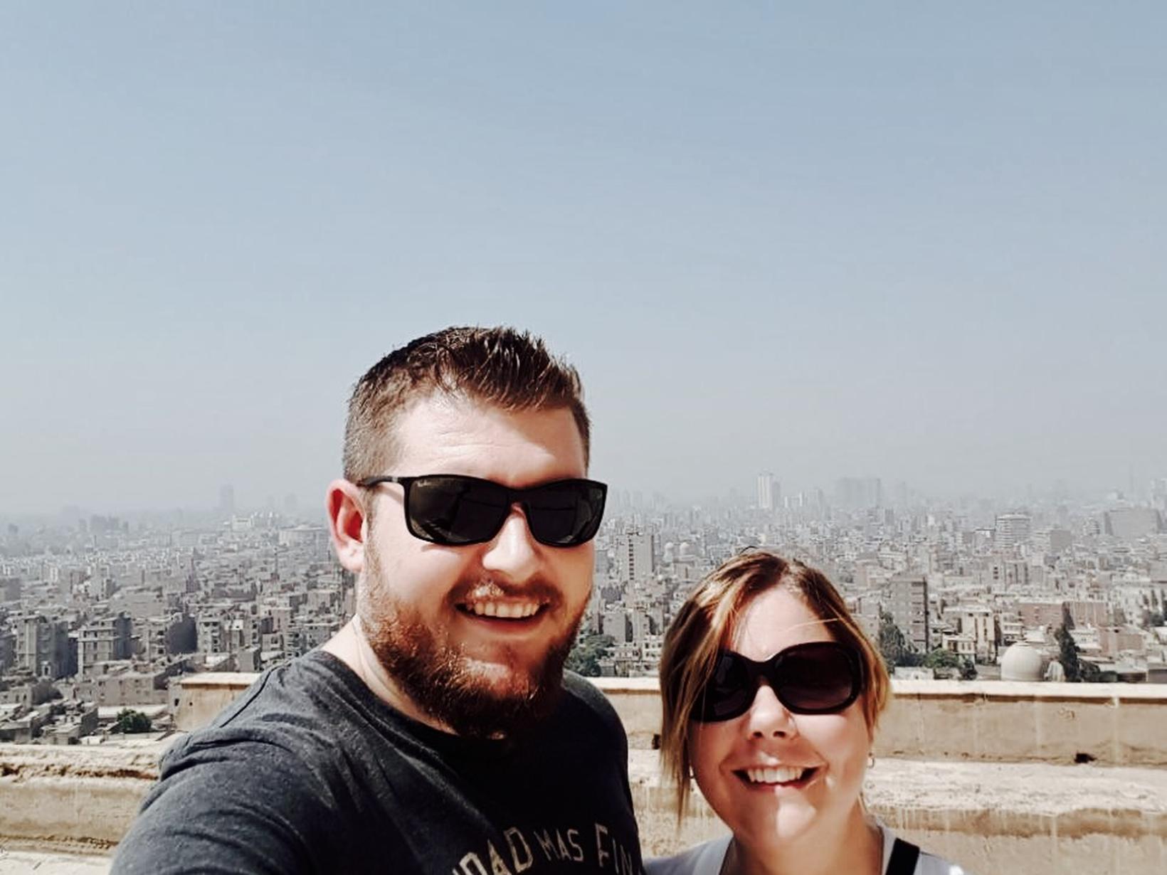 Kathryn & Greg from Doha, Qatar