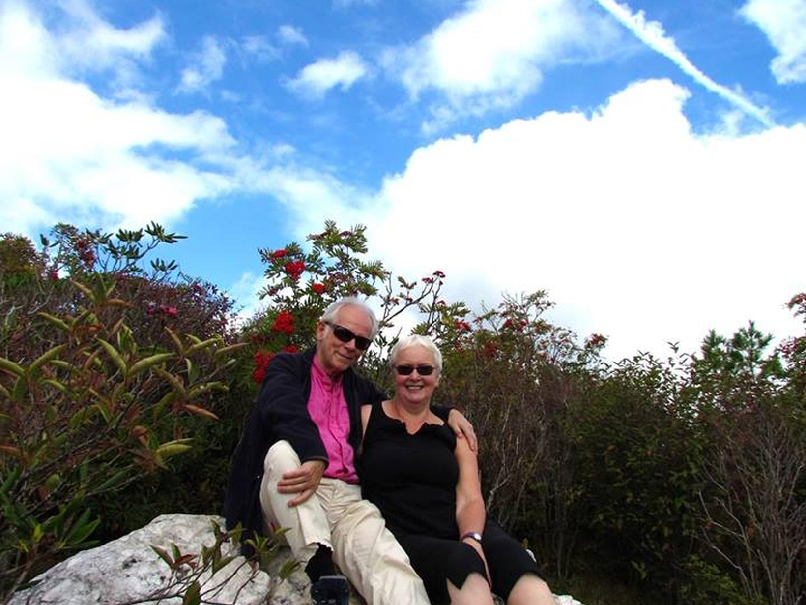 Christine & Maurice from Crieff, United Kingdom