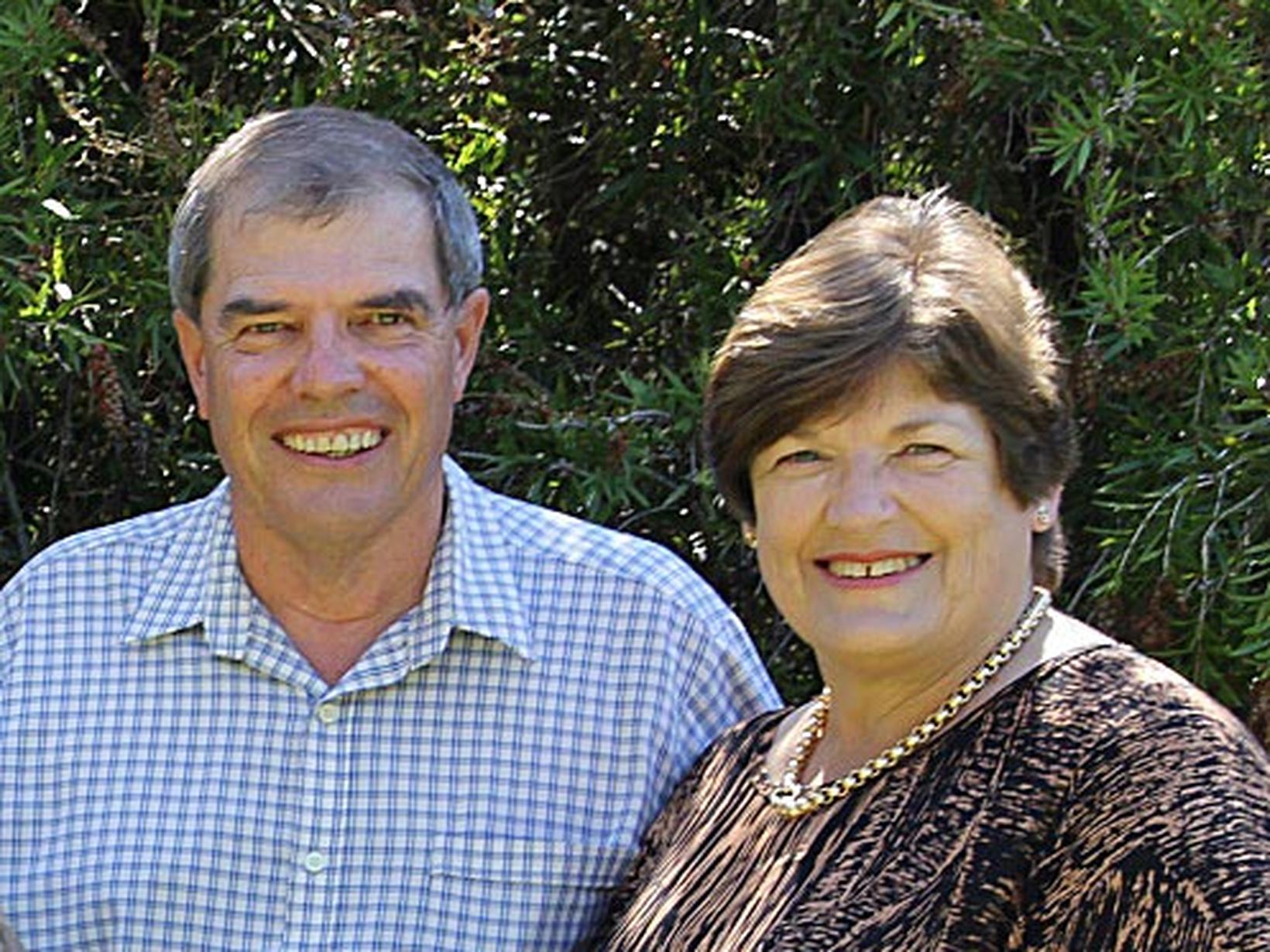 Margaret & Philip from Tamworth, New South Wales, Australia