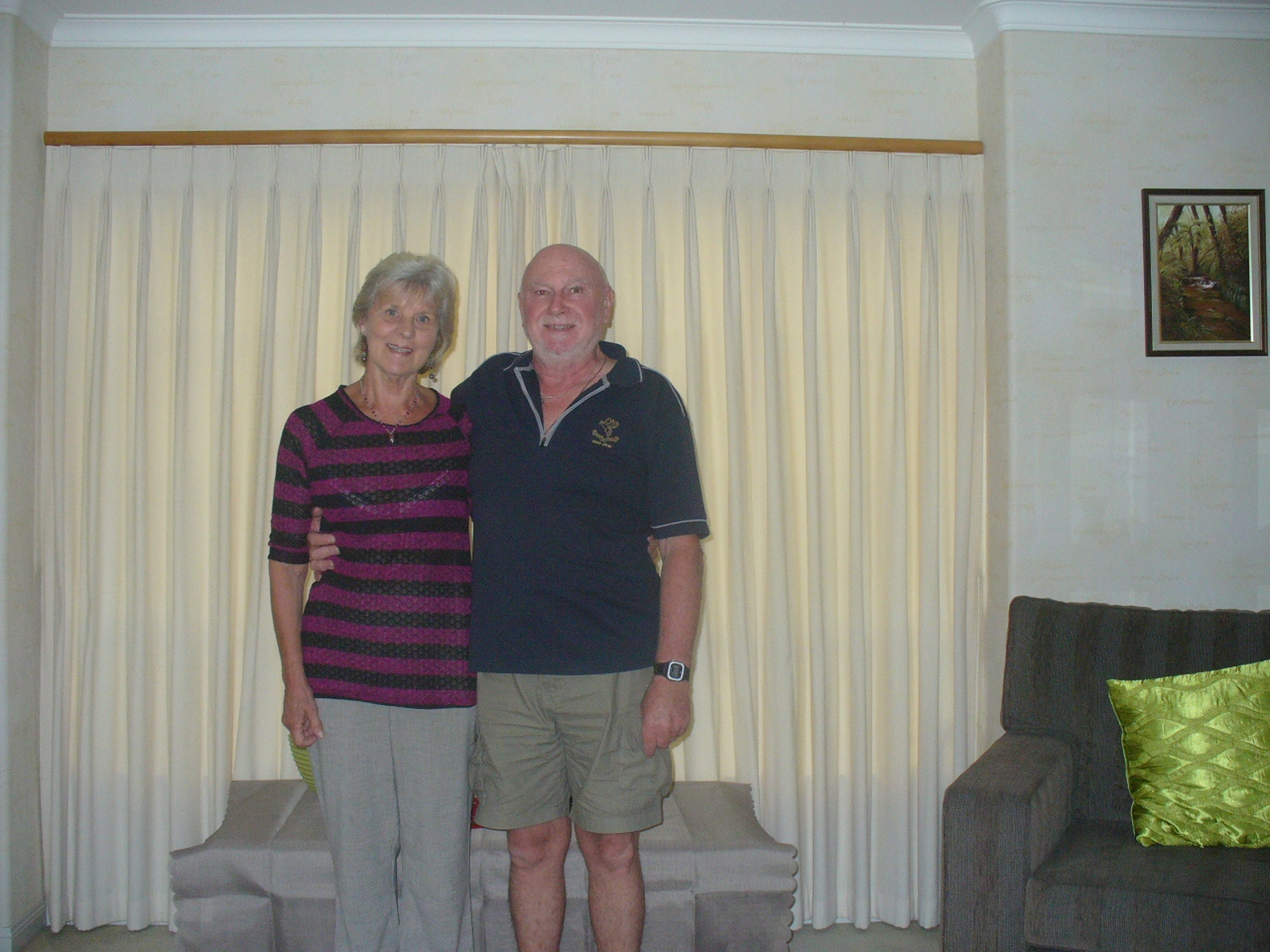 Judy & Gary from Papamoa, New Zealand