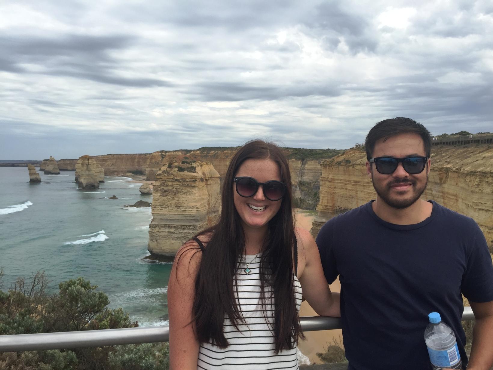 Beth & Simon from Auckland, New Zealand