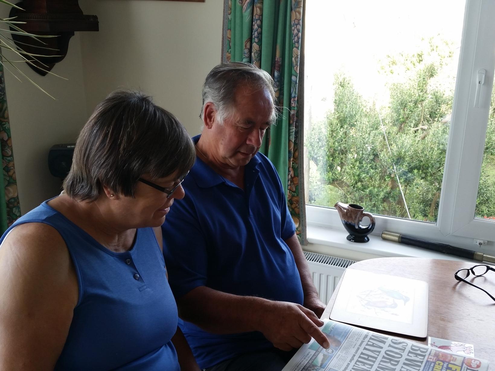 Ann & Nigel from Paphos, Cyprus