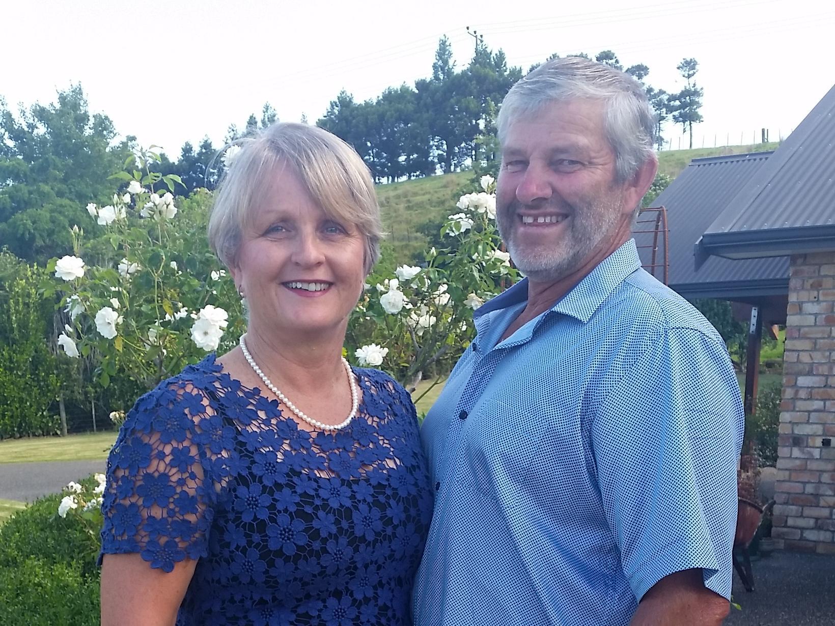 Noelene & Kevin from Auckland, New Zealand