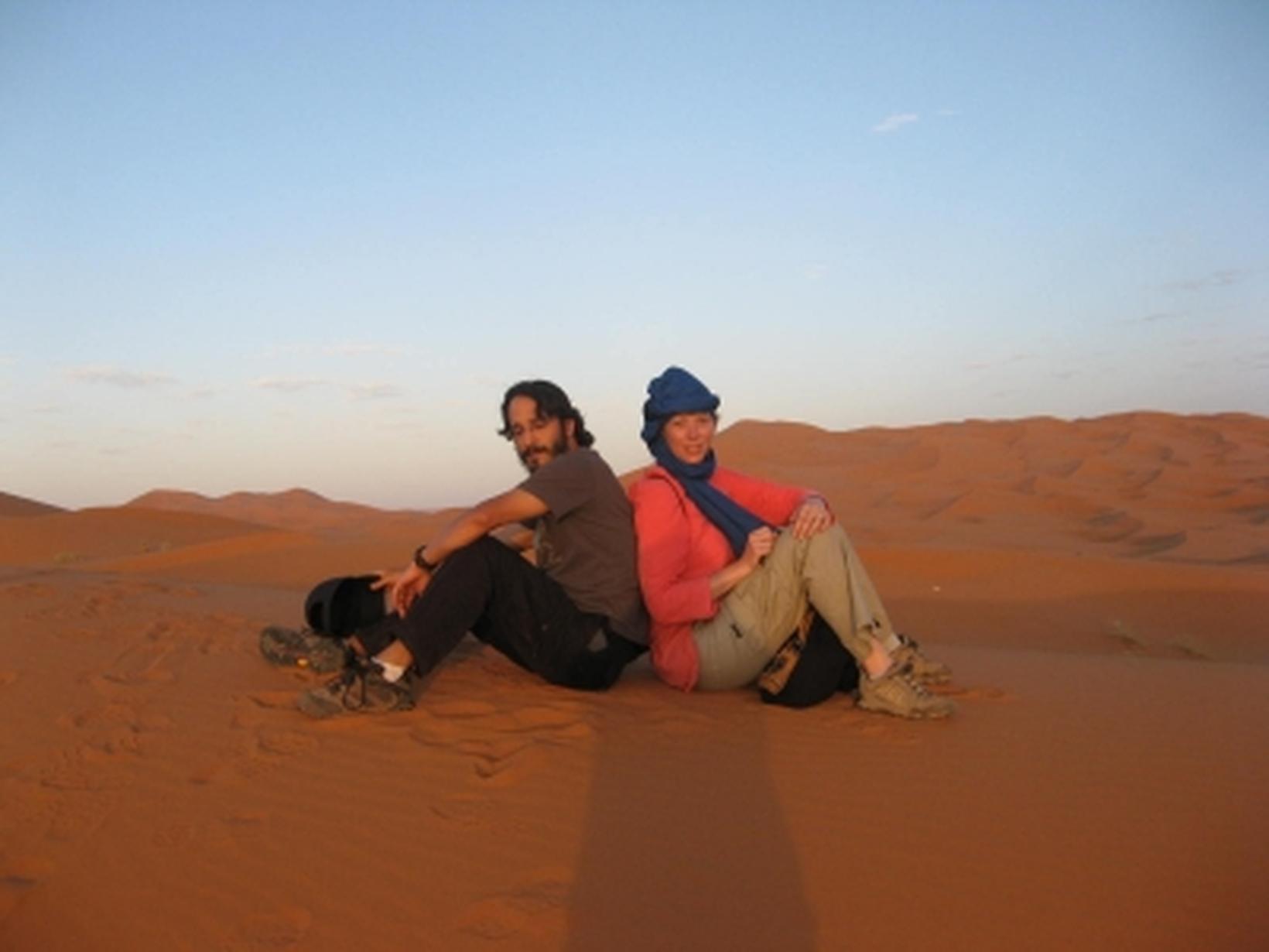 Christine & Karim from Cordes-sur-Ciel, France