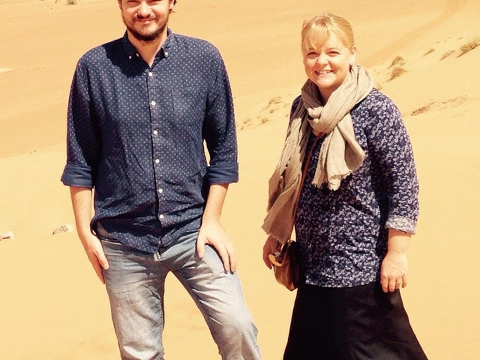 Elizabeth & William from Ibrā', Oman