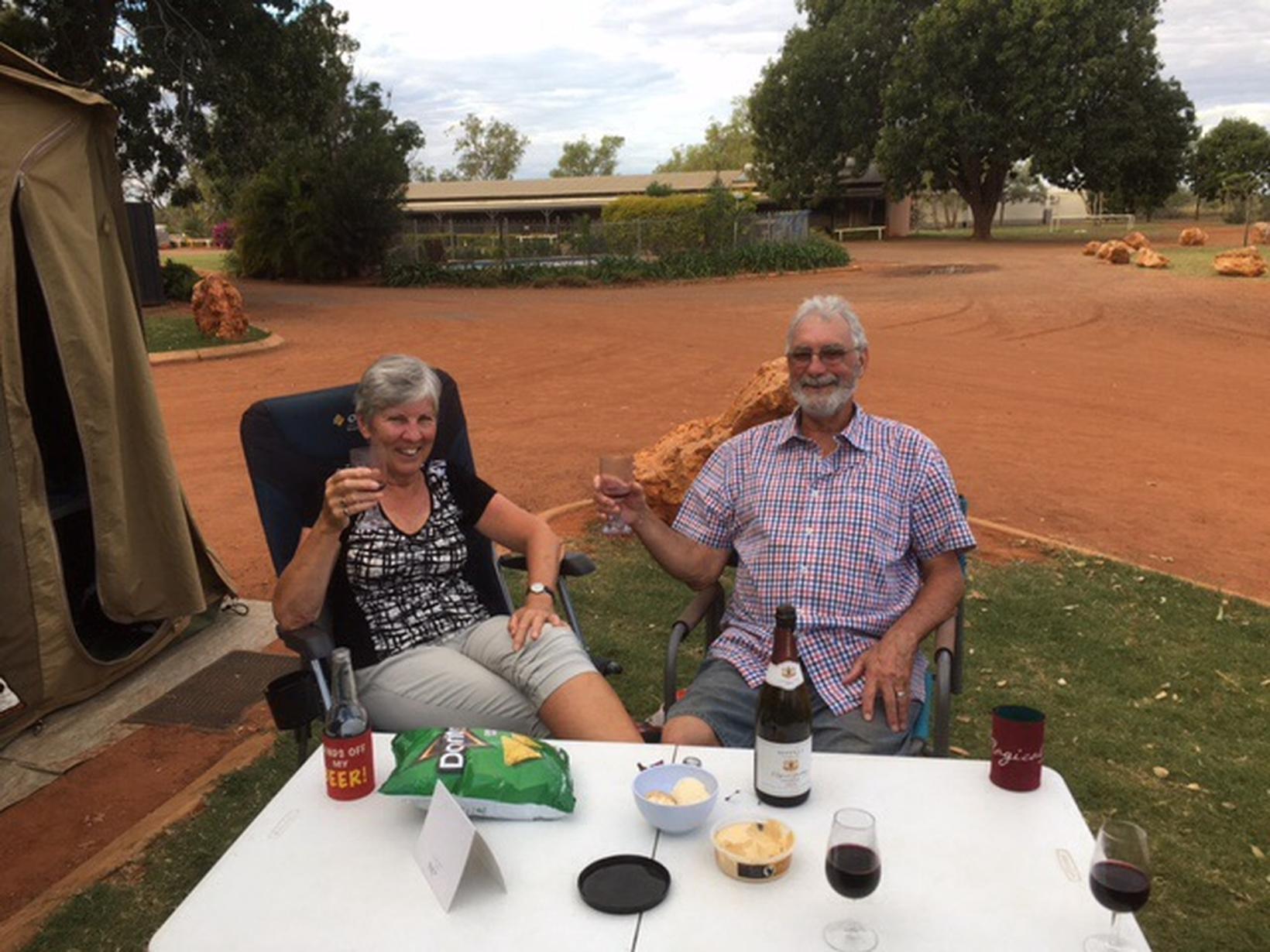 Libby & Reg from Stawell, Victoria, Australia