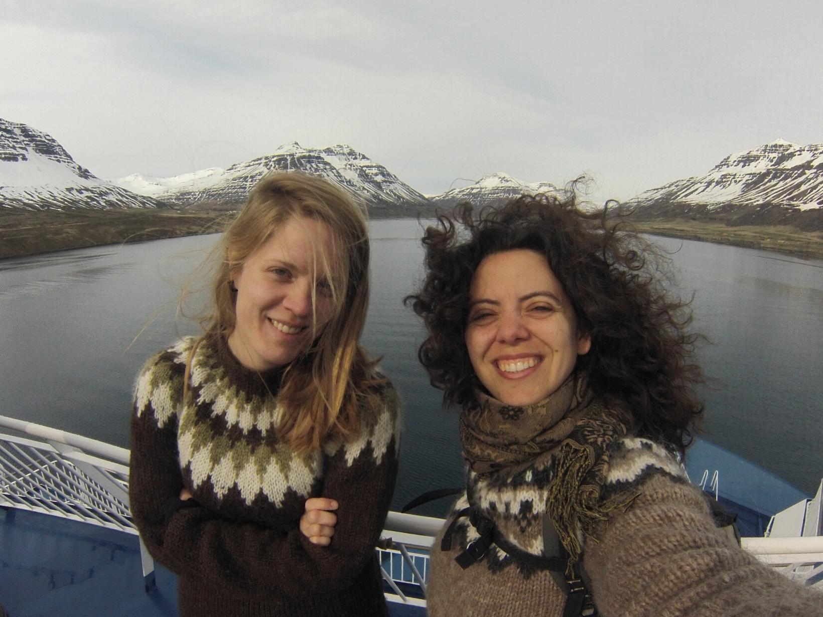 Nadine & Danielle from Hamburg, Germany