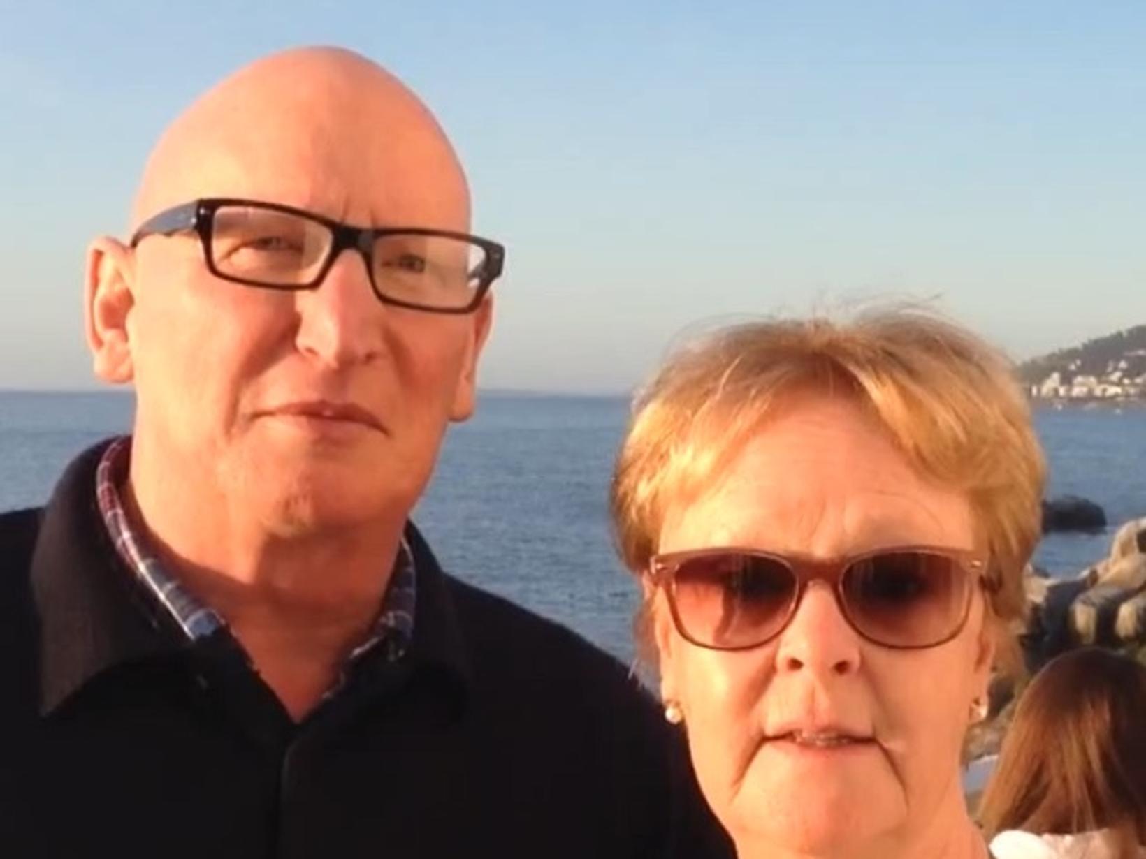 Sandra & Iain from Edinburgh, United Kingdom