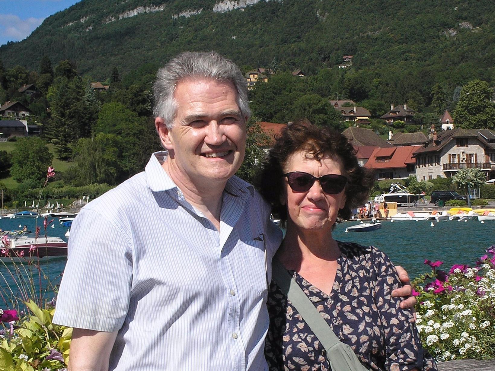 Blair & Julie from Tenby, United Kingdom