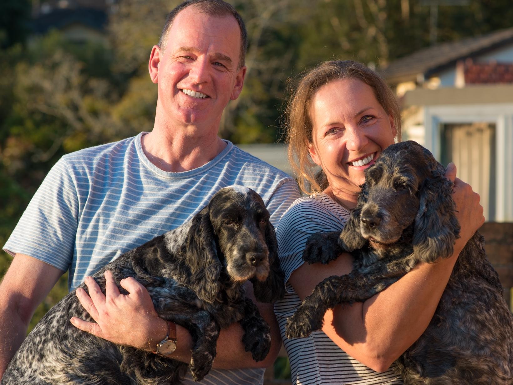 Kay & David from Sydney, New South Wales, Australia