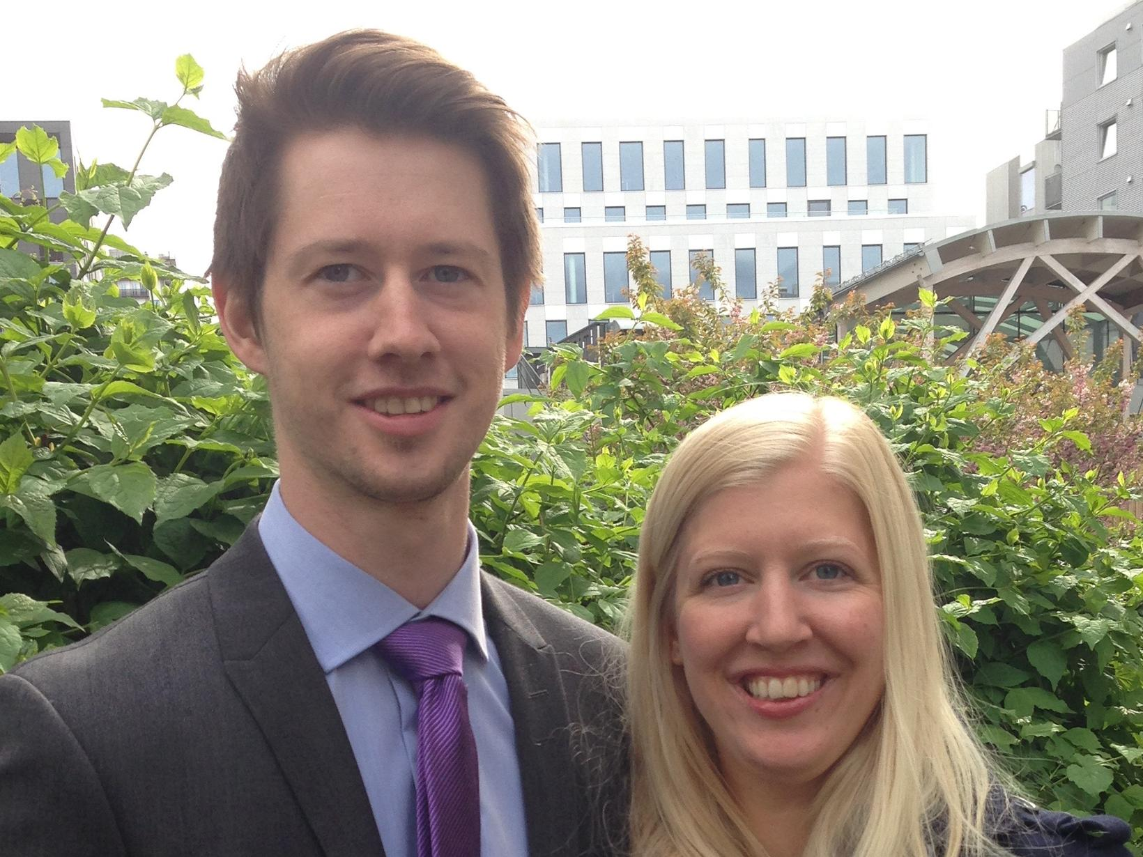 Marit & Callum from Oslo, Norway