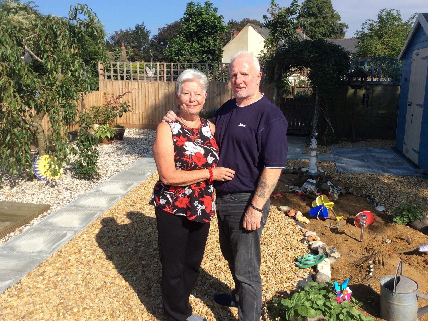 Christina & Dennis from Holbeach, United Kingdom