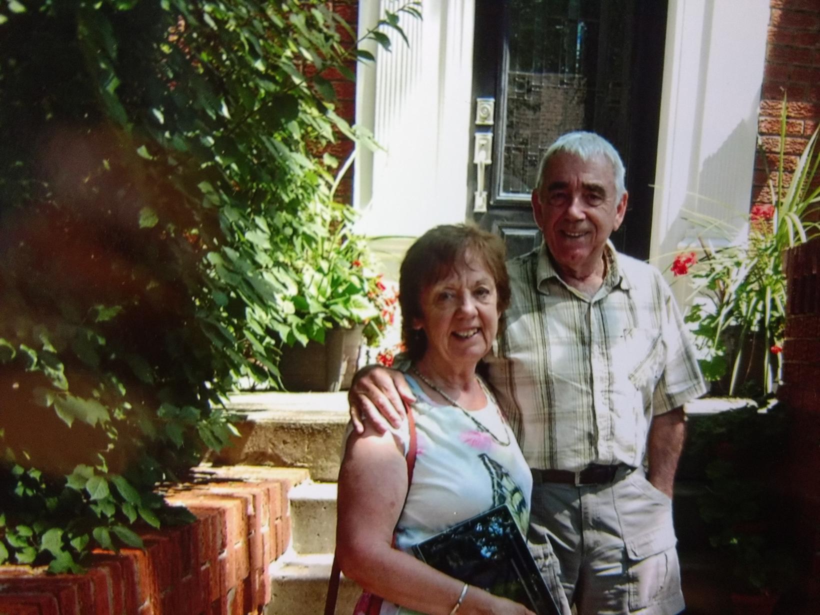 Caitlin & Bernard from Toronto, Ontario, Canada