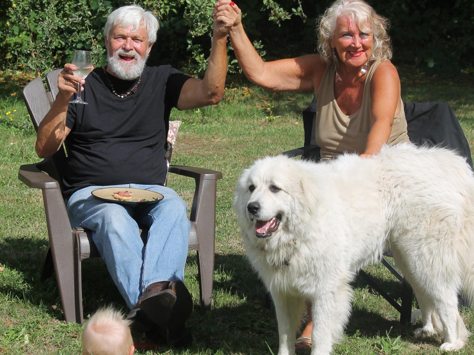 Ghitta & Ulric from Osoyoos, British Columbia, Canada